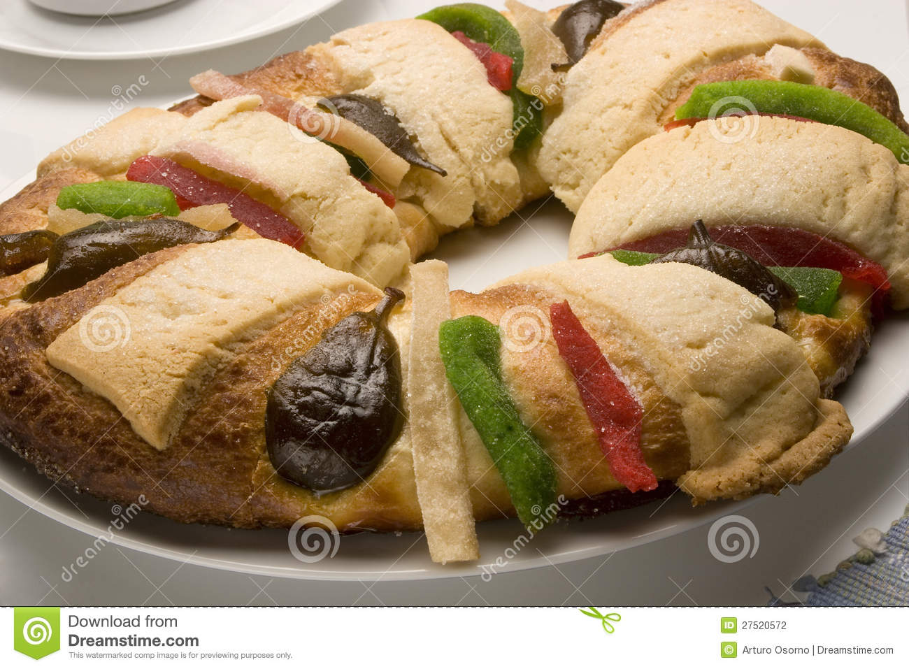 Rosca De Reyes Stock Photo. Image Of Mexican, Reyes