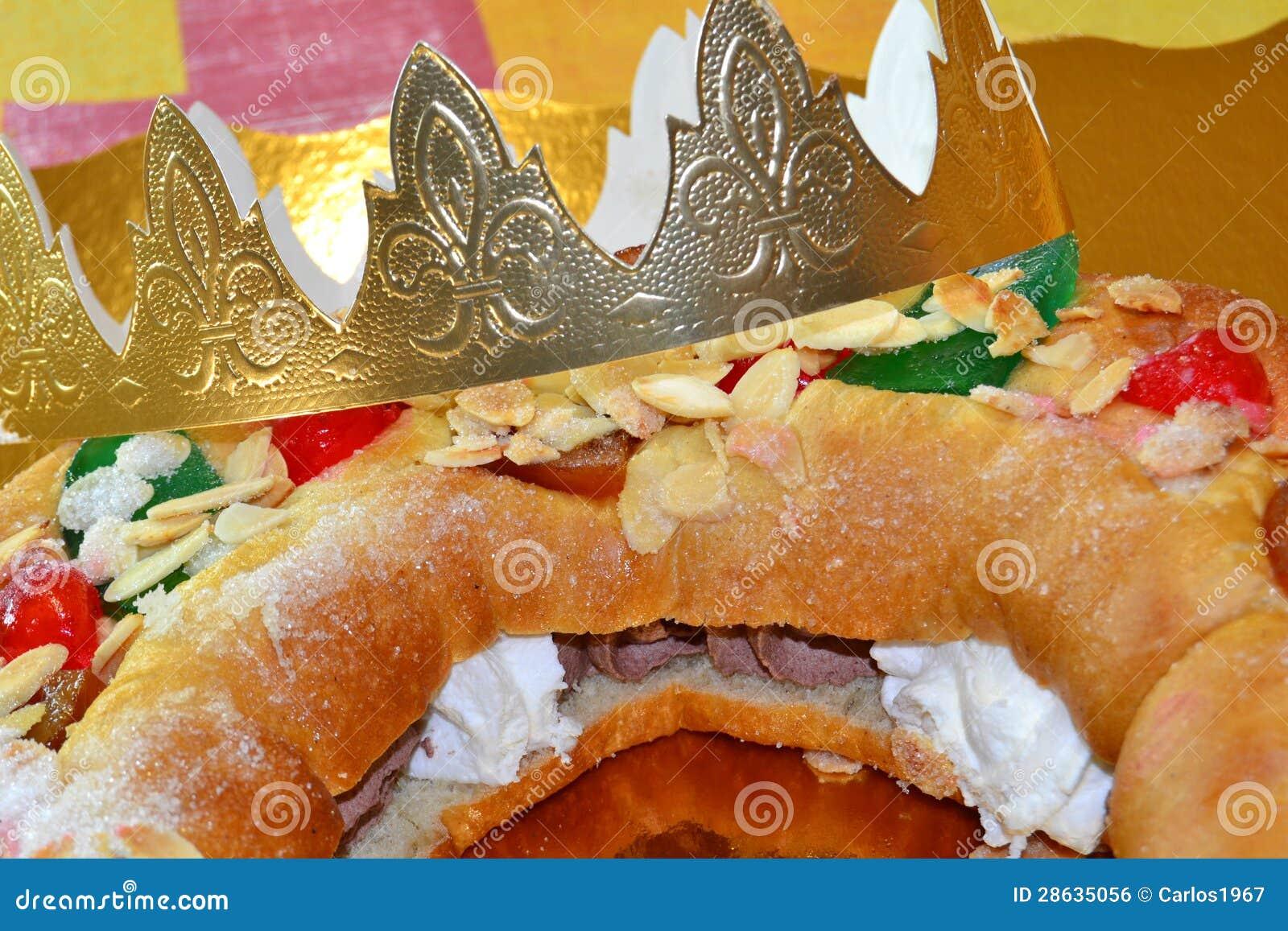 Roscón De Reyes Royalty Free Stock Image