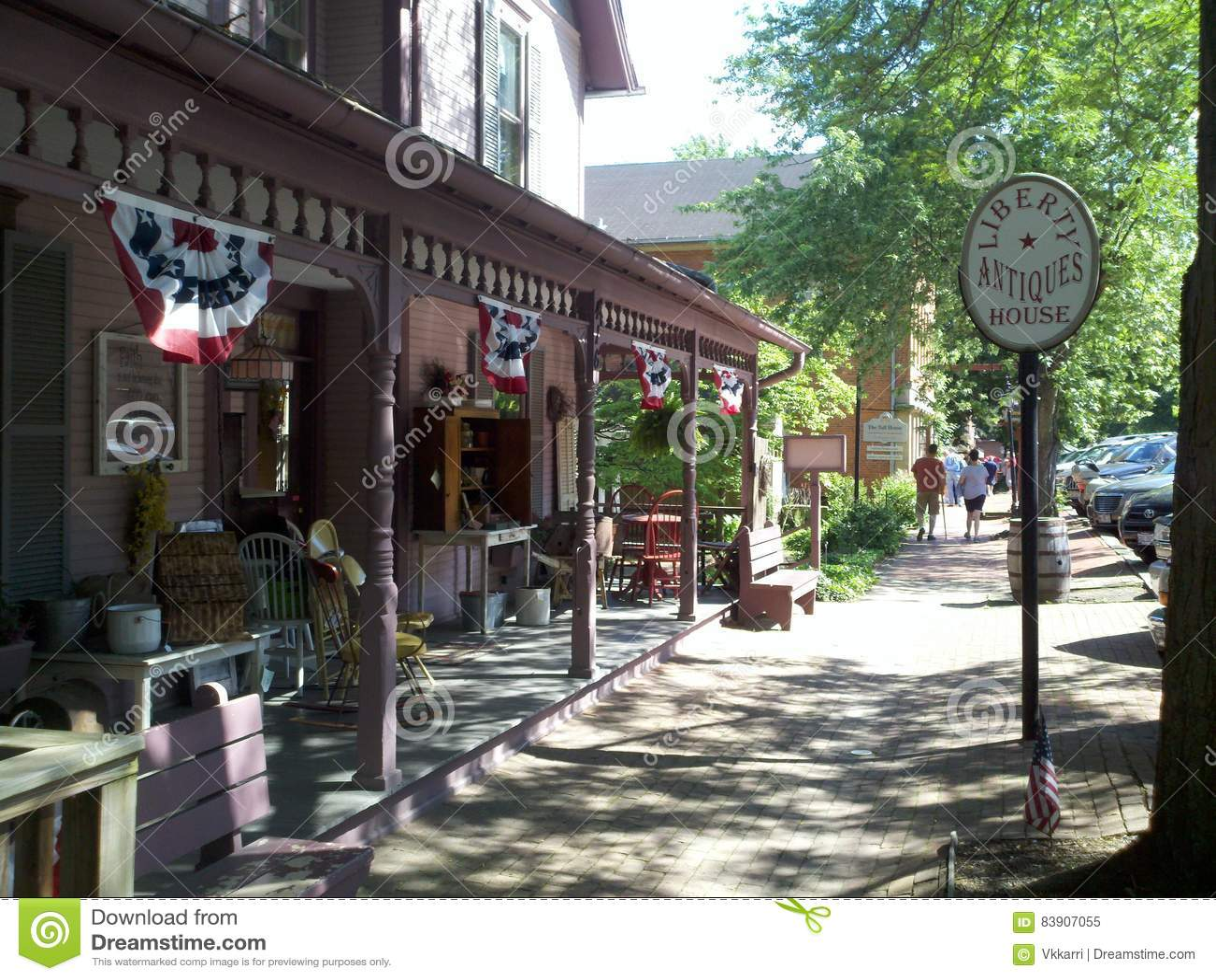 Roscoe wioska Coshocton, Ohio