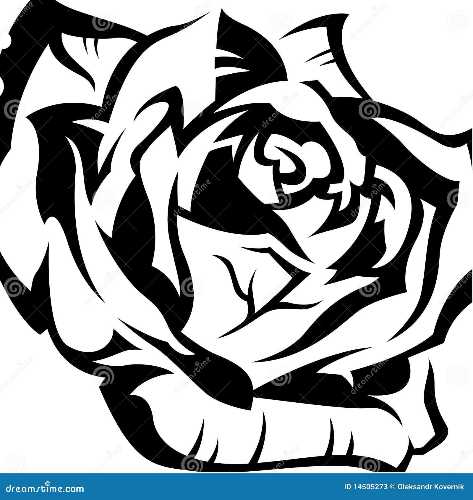 Rose Stock Vector Illustration Of Leaf Thorn Belle 14505273