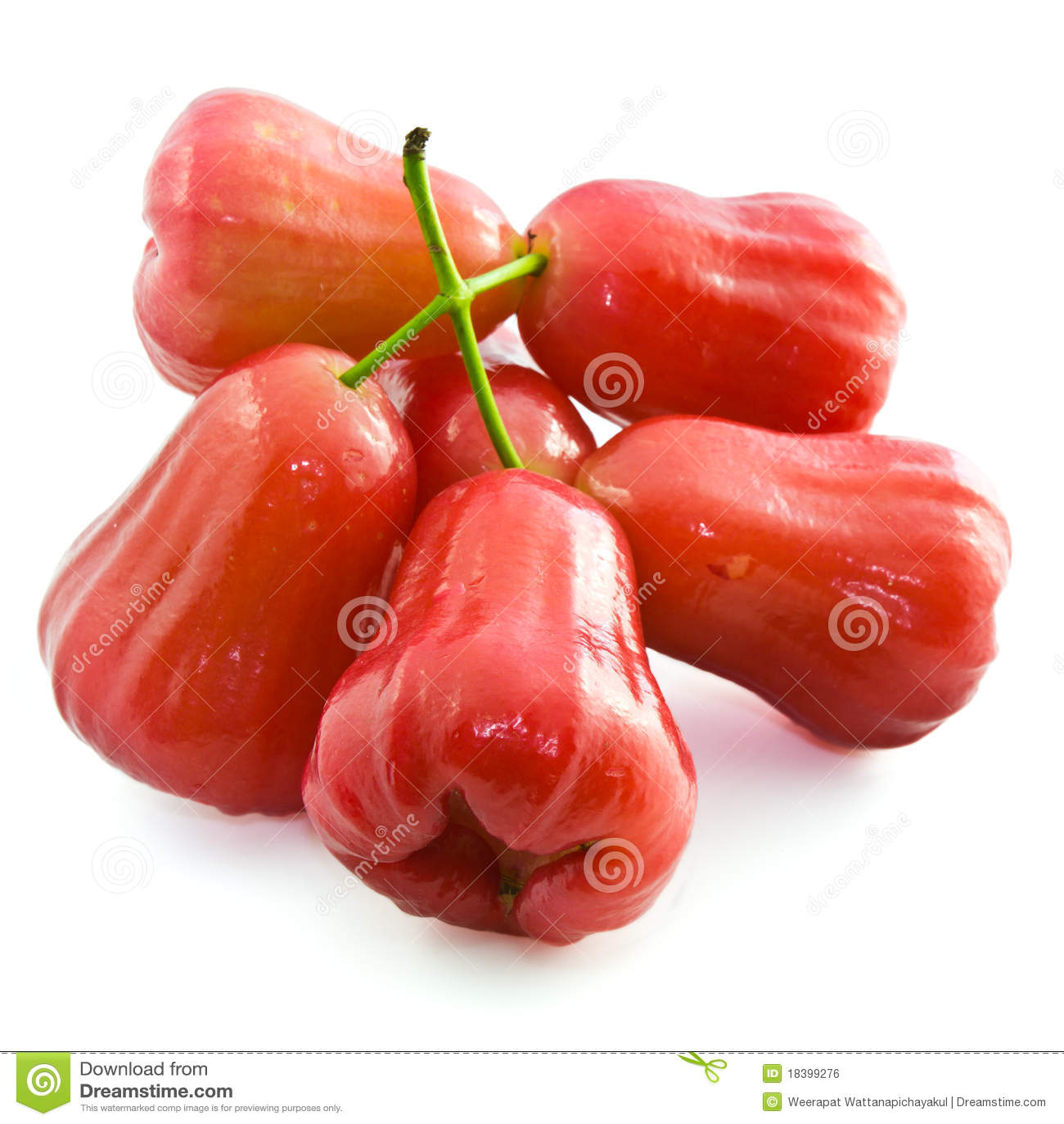 Rose Apple Royalty Free Stock Image - Image: 18399276