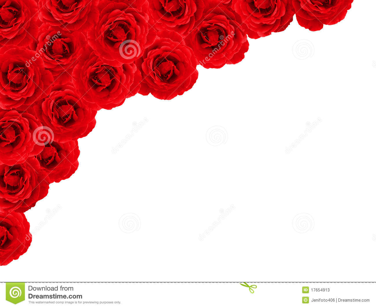 Rose Border Stock Photos - Image: 17654913