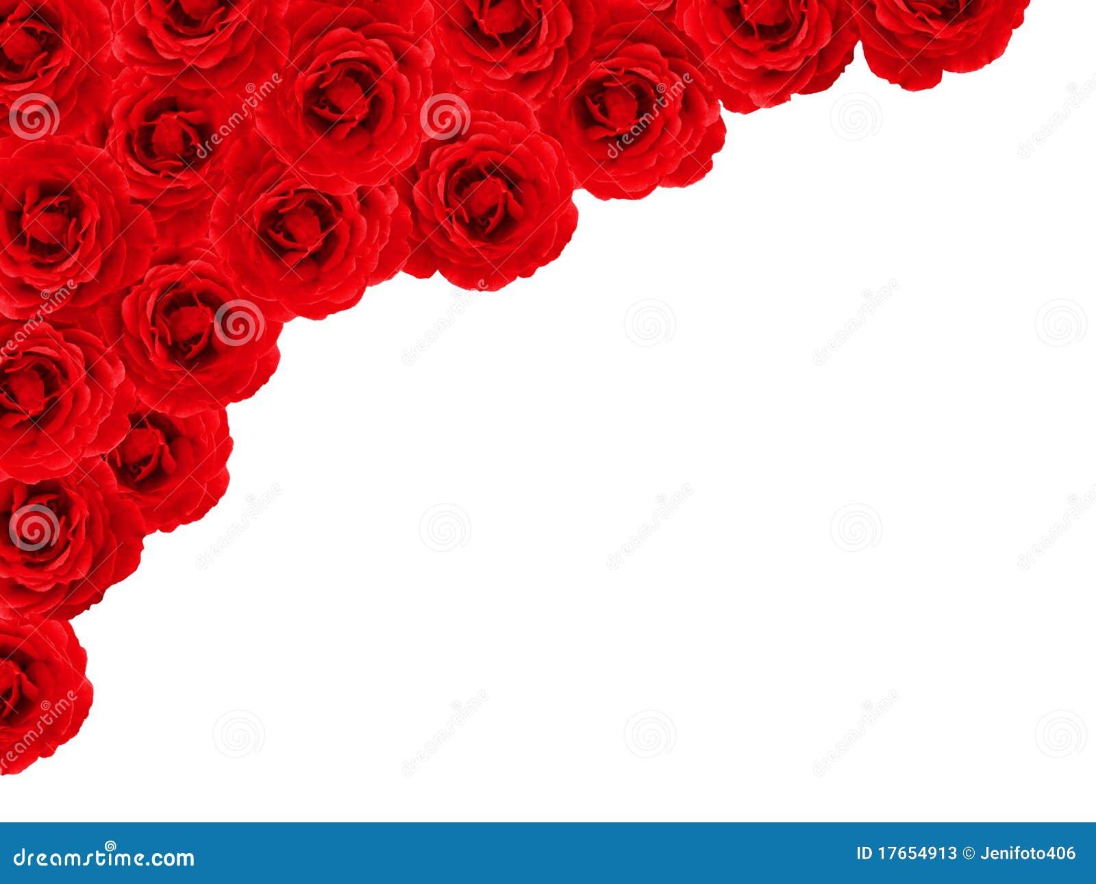 Rose Border Stock Photos - Image: 17654913