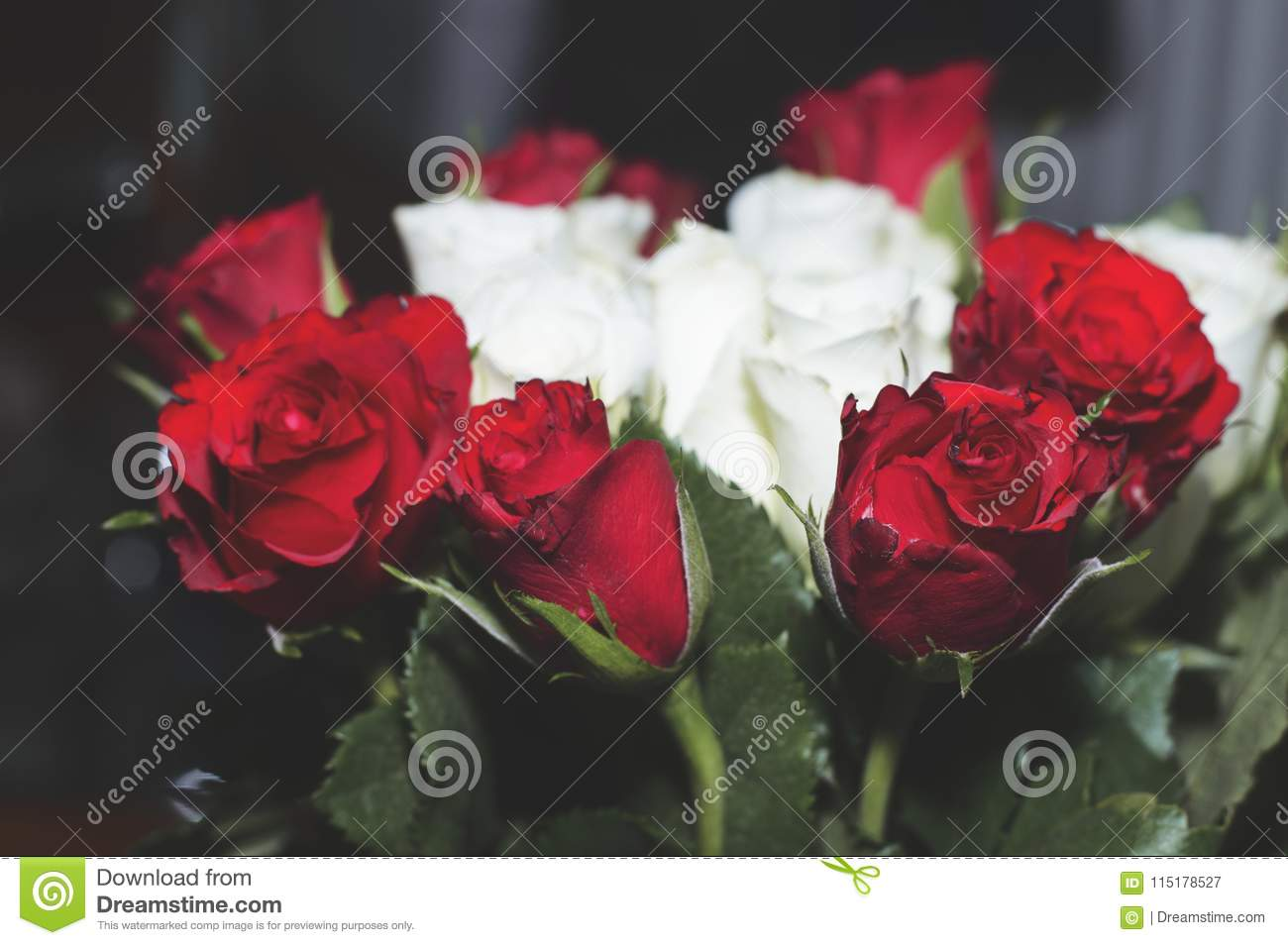 Flower Grin Flower Rose Bouquet Stock Image Image Of Magnolia