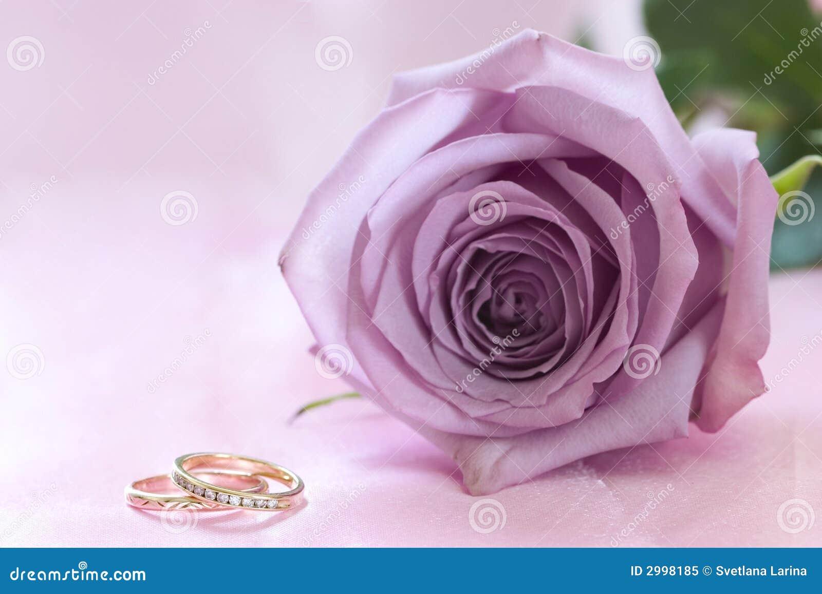 Purple Wedding Rings Background Ring Wallpaper