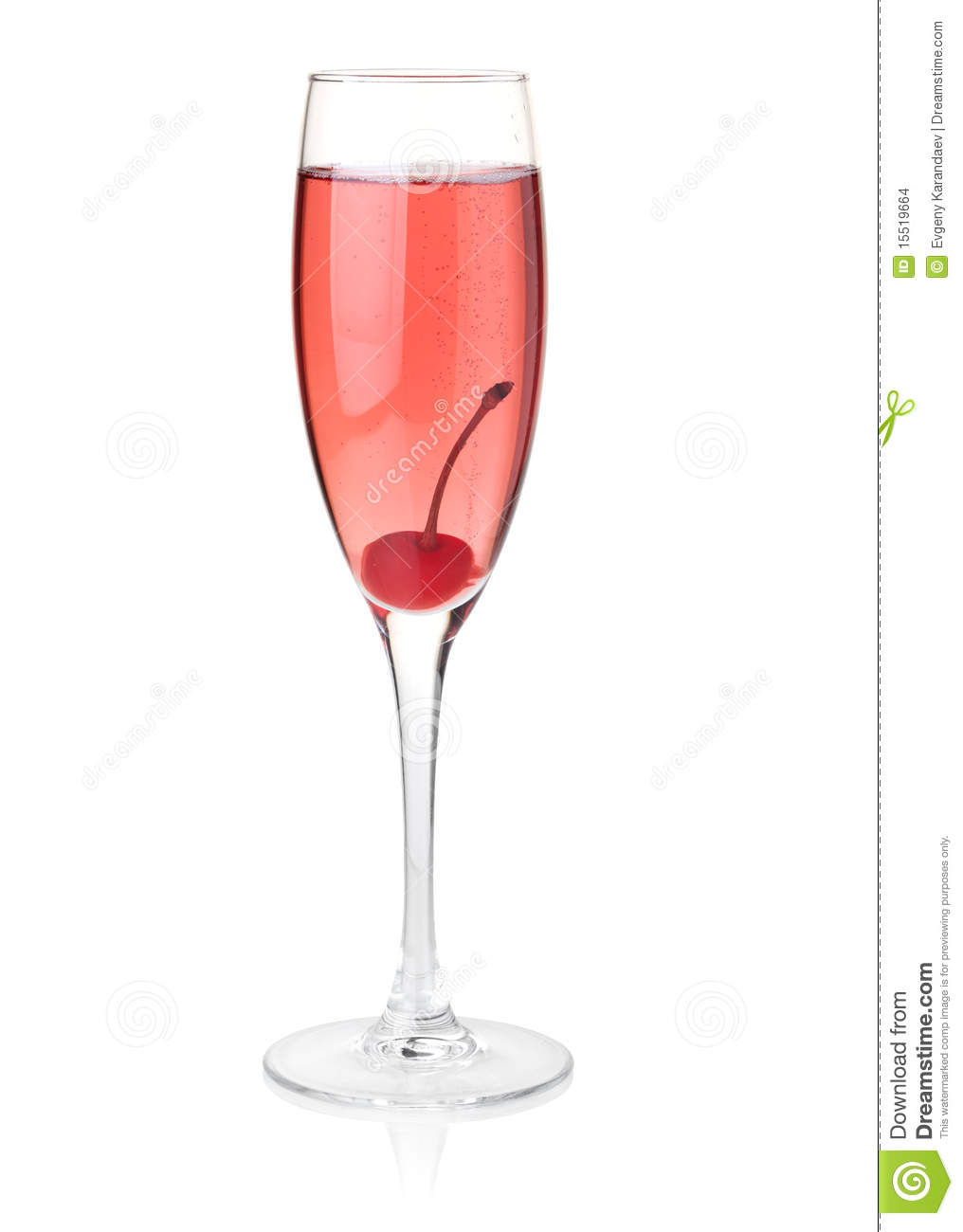 Rose champagne glass stock photo image of reflection for What is rose champagne