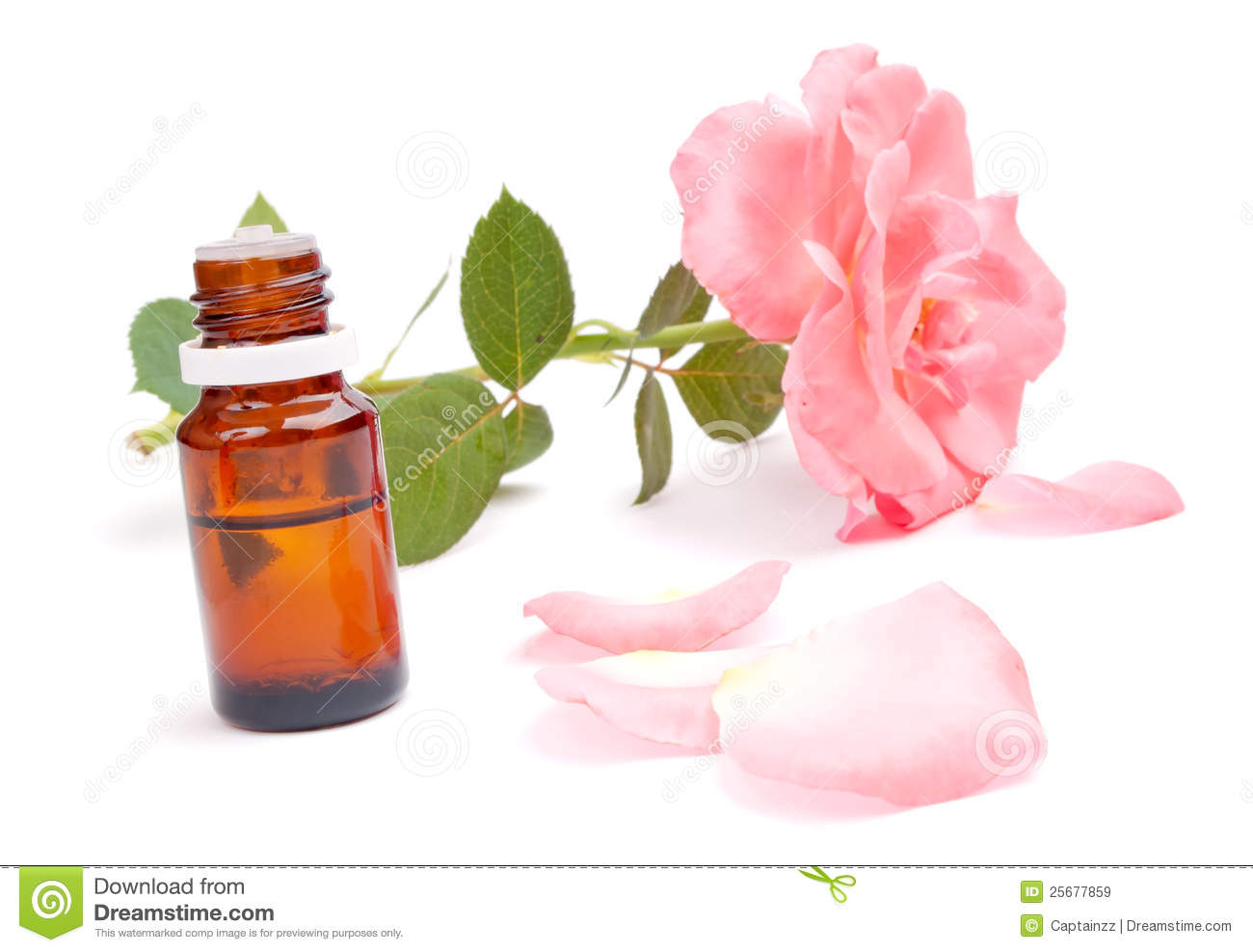 Rose Essential Oil Royalty Free Stock Images Image 25677859
