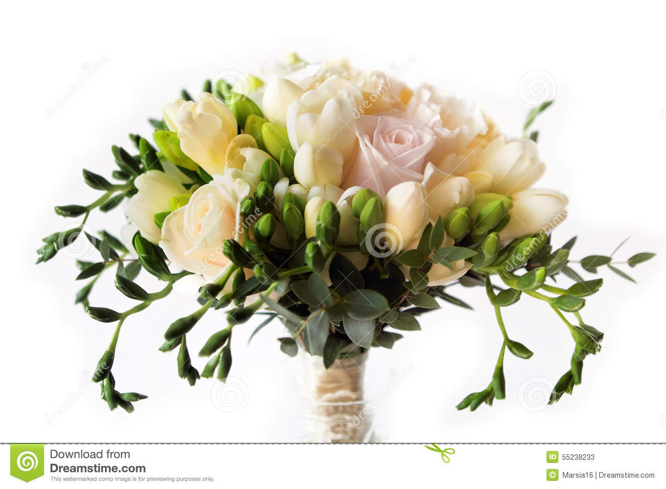 rose flower bouquet for the bride stock photo image 55238233. Black Bedroom Furniture Sets. Home Design Ideas