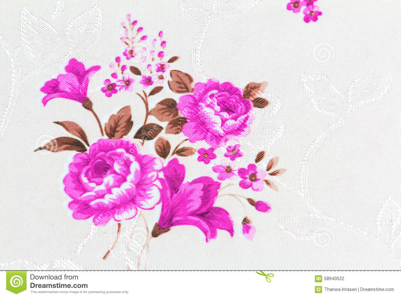 Beautiful Rose Flower Batik Fabric Photos Free Royalty Free Stock Photos From Dreamstime