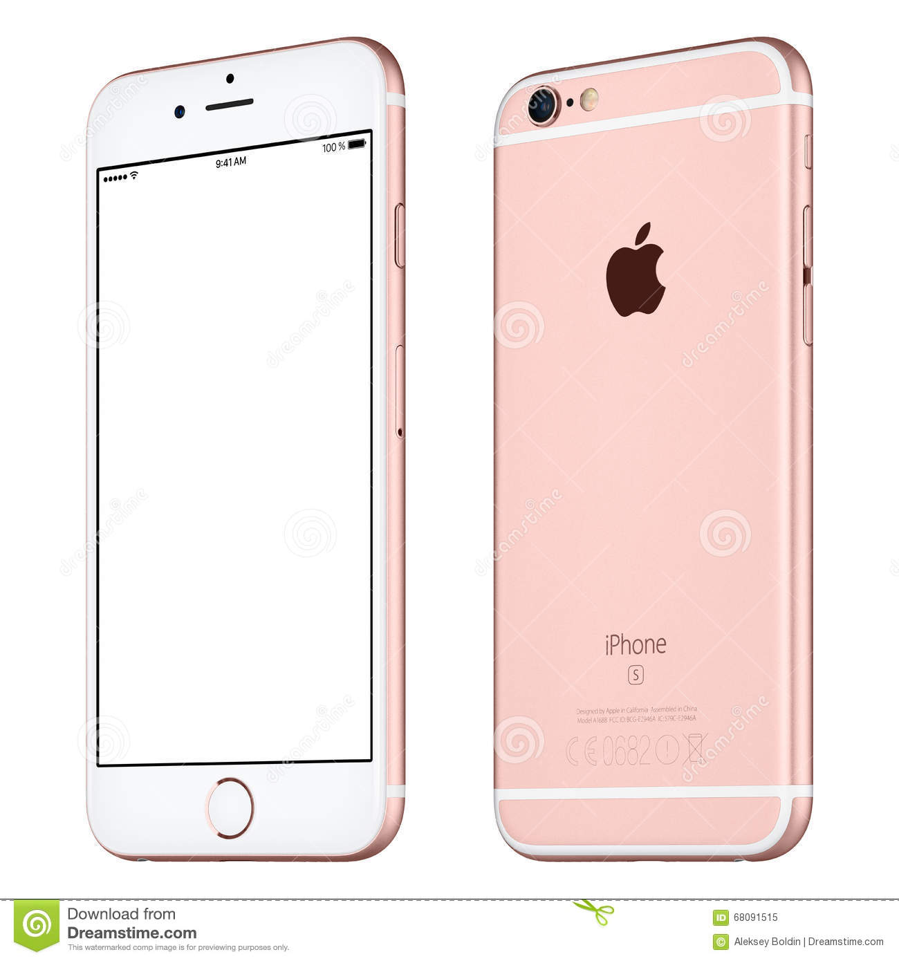 iphone rose gold apple gold iphone 6s editorial image cartoondealer 1255