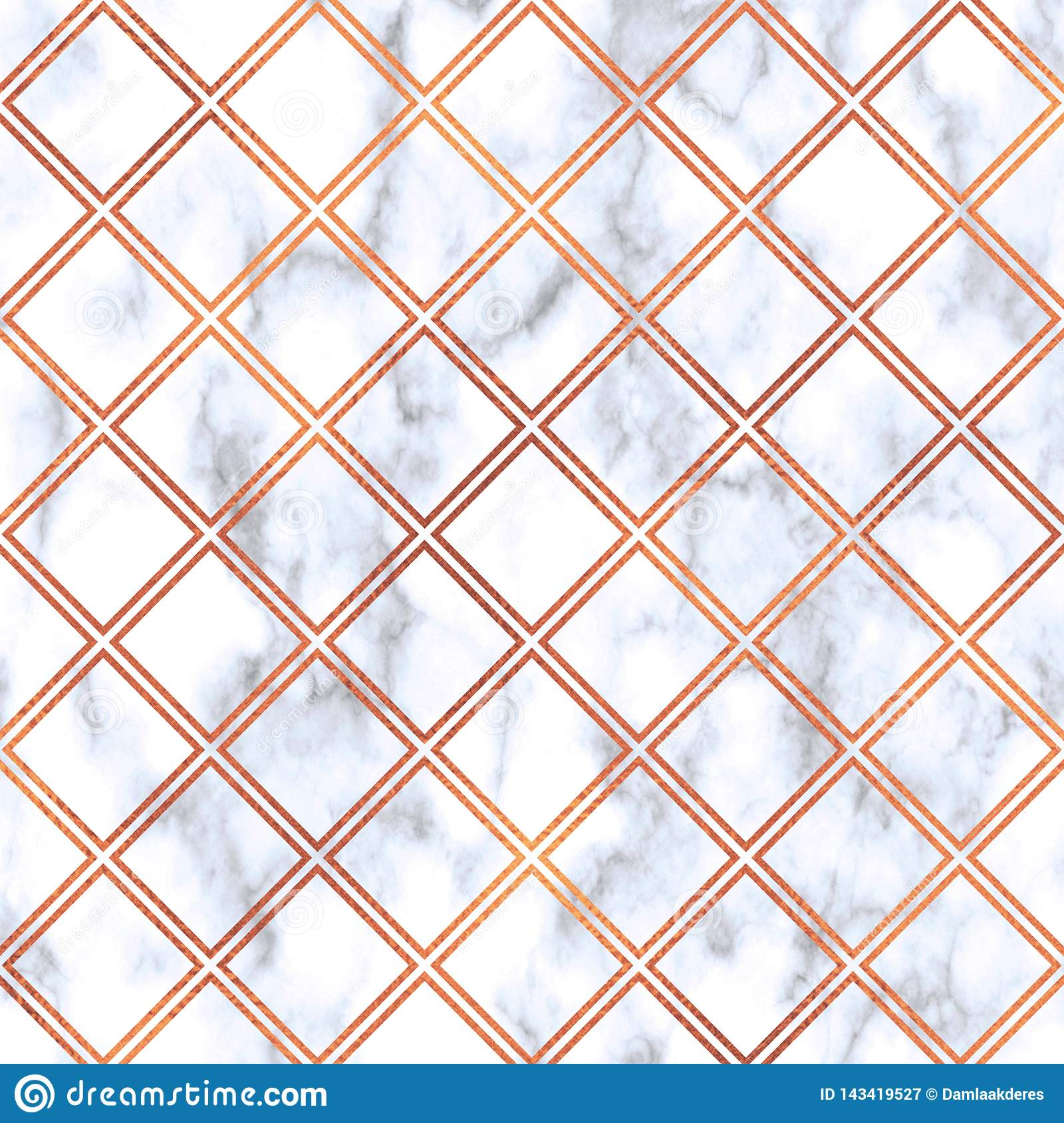 Rose Gold Geometric Pattern On Marble Background Rose Gold Texture Rose Gold Geometric Marble Pattern Rose Gold Marble Wallpaper Stock Illustration Illustration Of Marble Digital 143419527