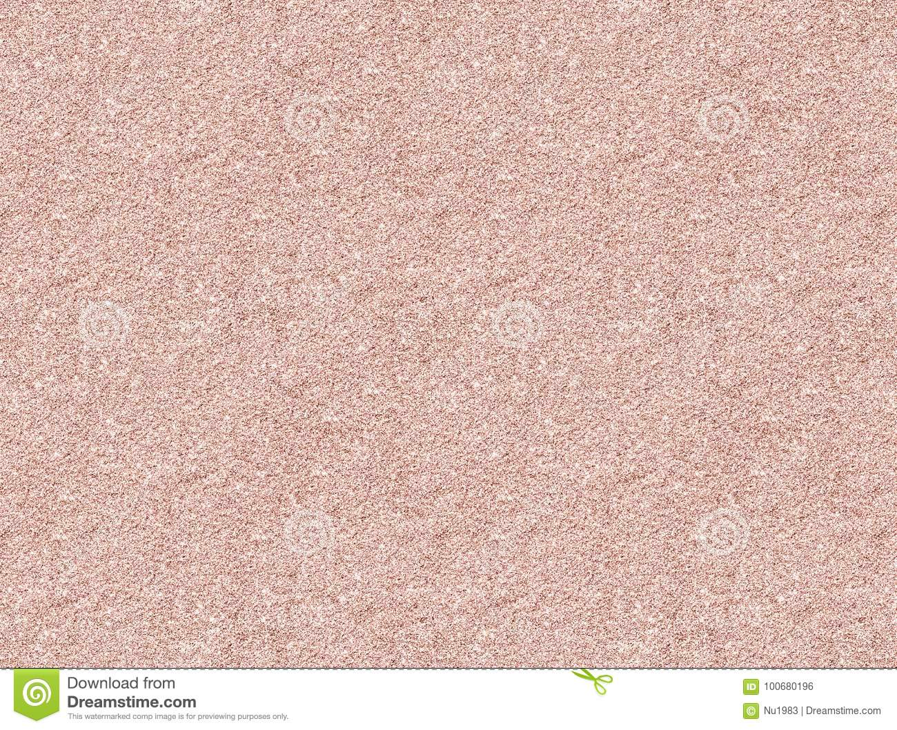 Rose Gold Glitter Texture Christmas Abstract Stock Photo