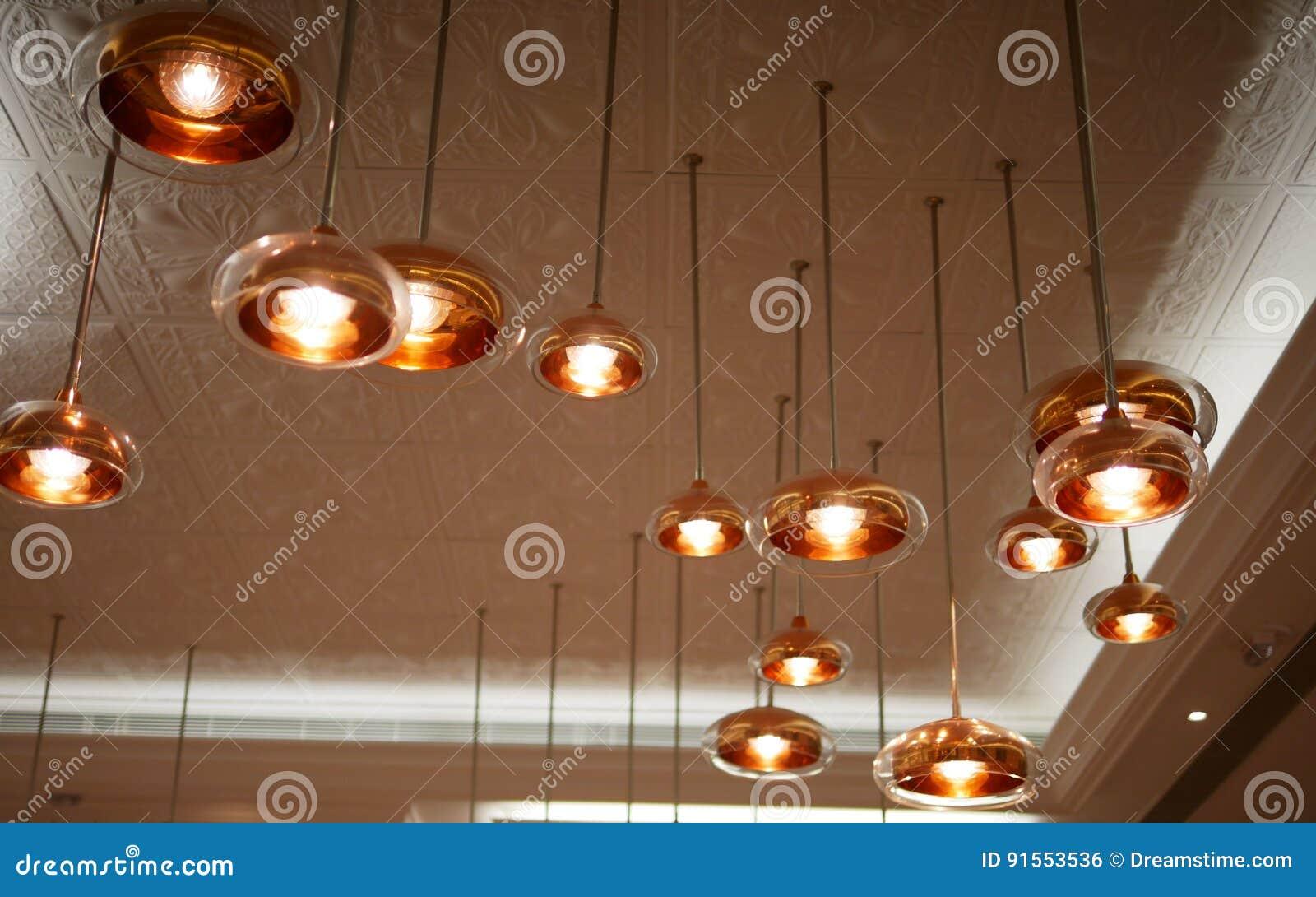 Rose Gold Lamp Stock Photo Image Of Rose Make Decoration