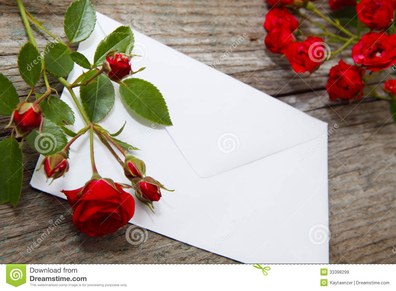 Rose Greetings Love Letter Stock Image Image Of Decorative Gift