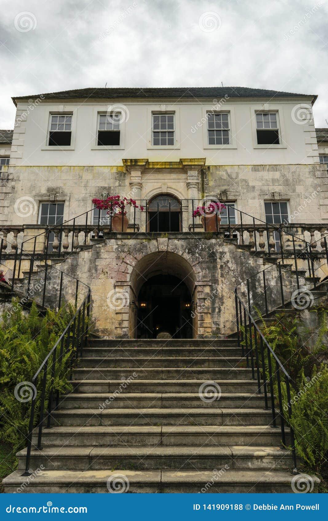 Rose Hall Great House in Montego Bay, Jama?ca Populaire toeristische attractie
