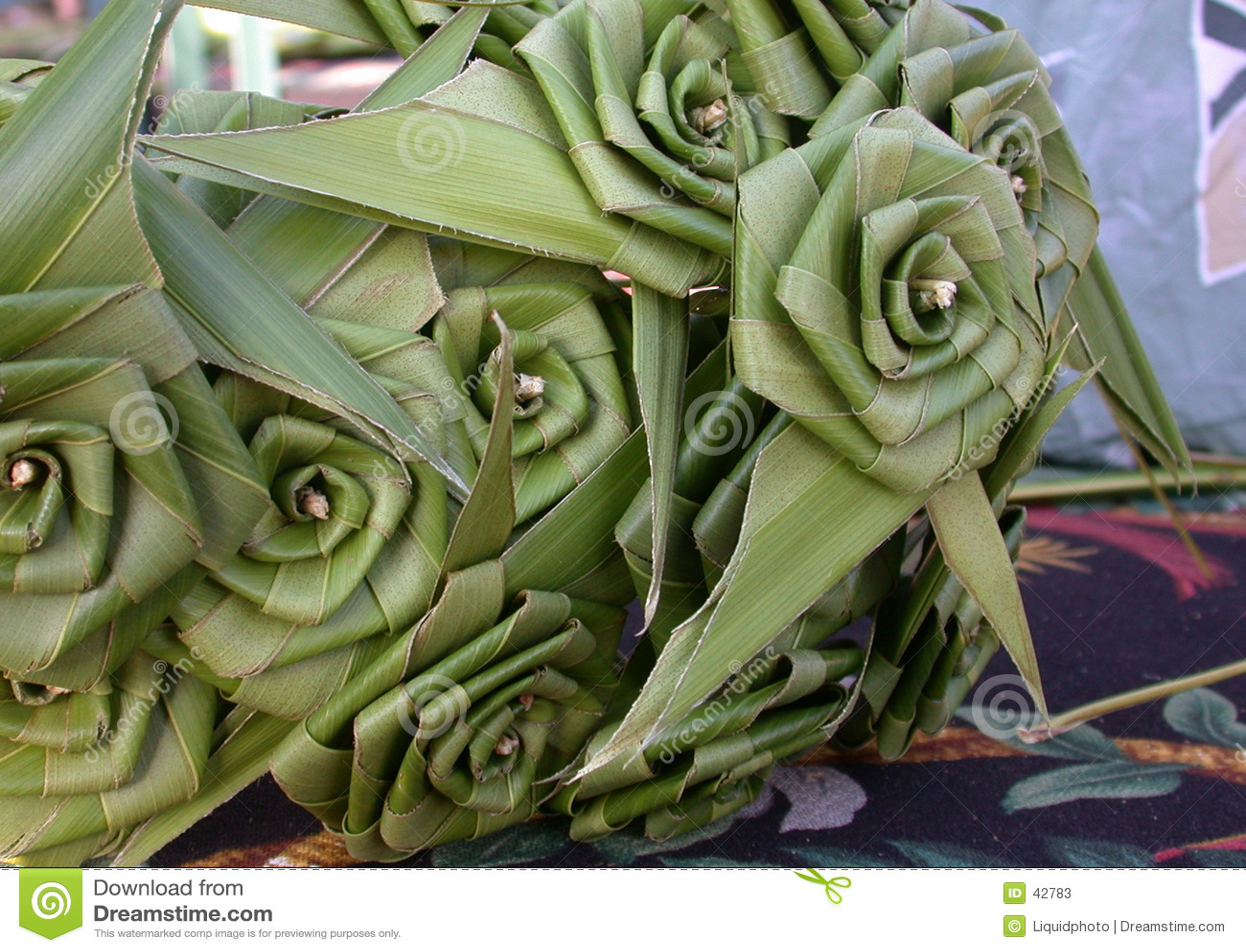 Rose-Palmblatt