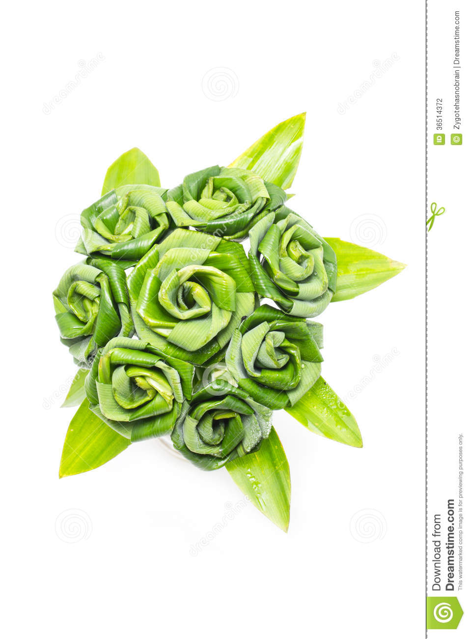 Rose Of Pandan Leaf.