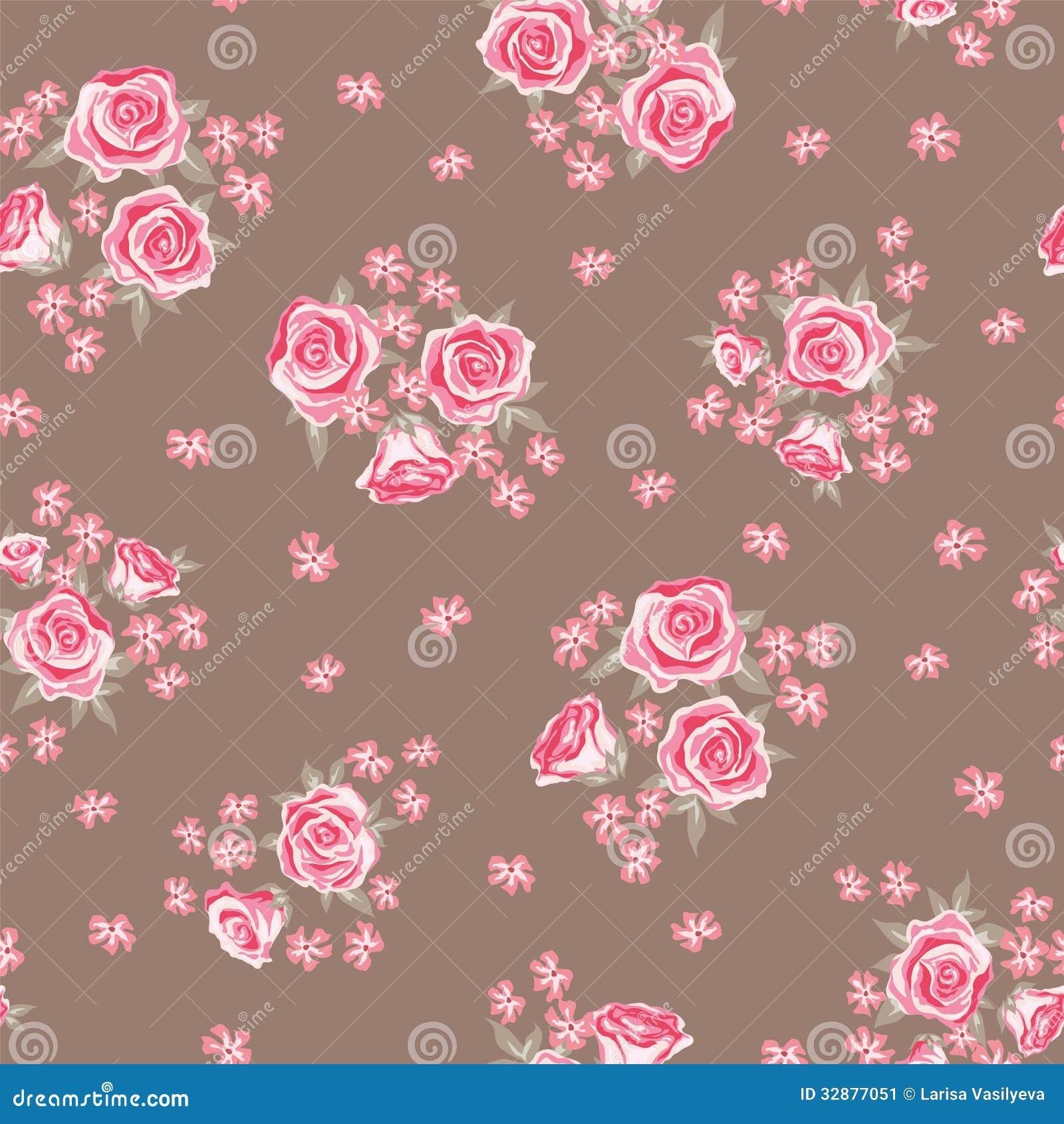 Rose Pattern 1 Stock Image - Image: 32877051