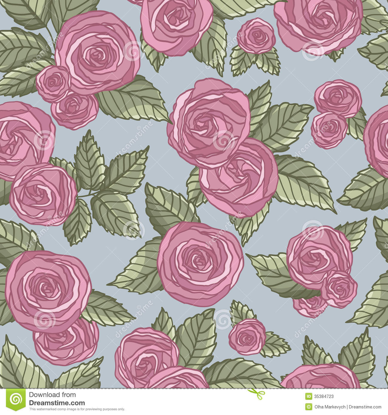 Rose Pattern Stock Photos - Image: 35384723