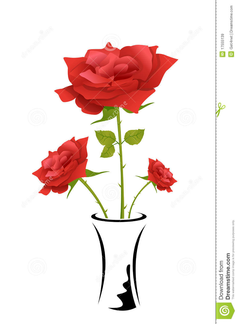 Rose in pot royalty free stock images image 17555139 royalty free stock photo download rose in pot ccuart Image collections
