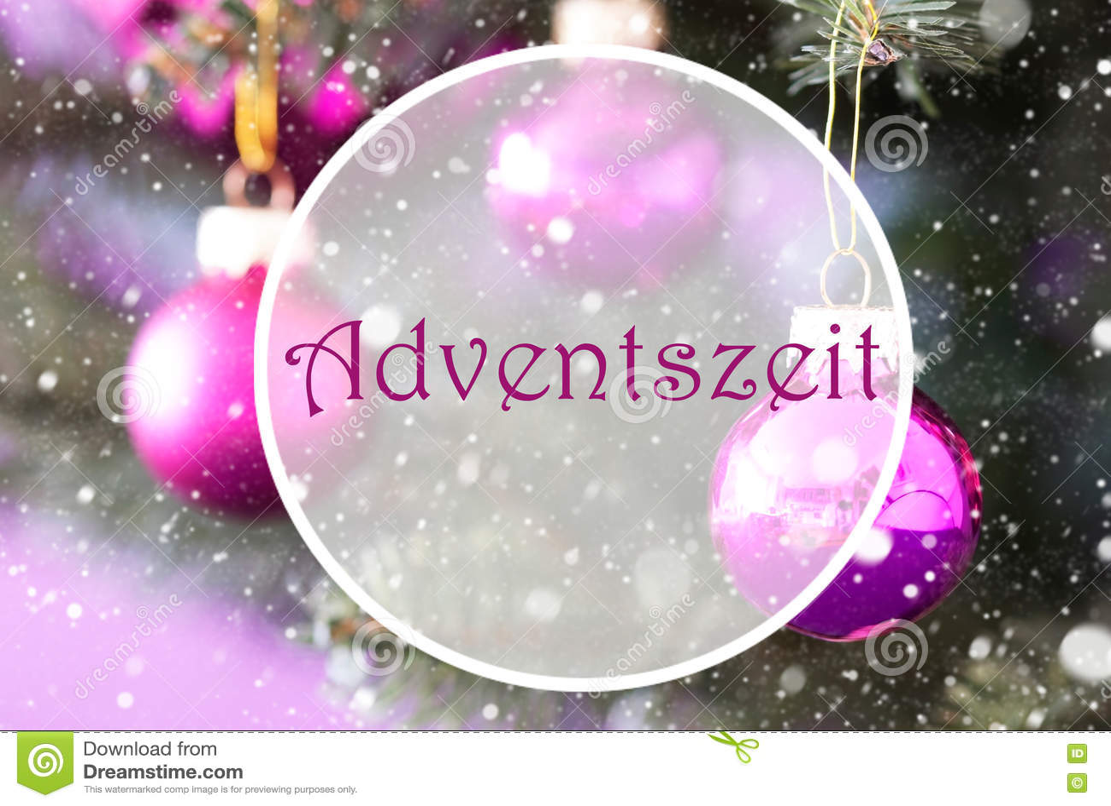 Rose quartz christmas balls adventszeit means advent season stock rose quartz christmas balls adventszeit means advent season m4hsunfo