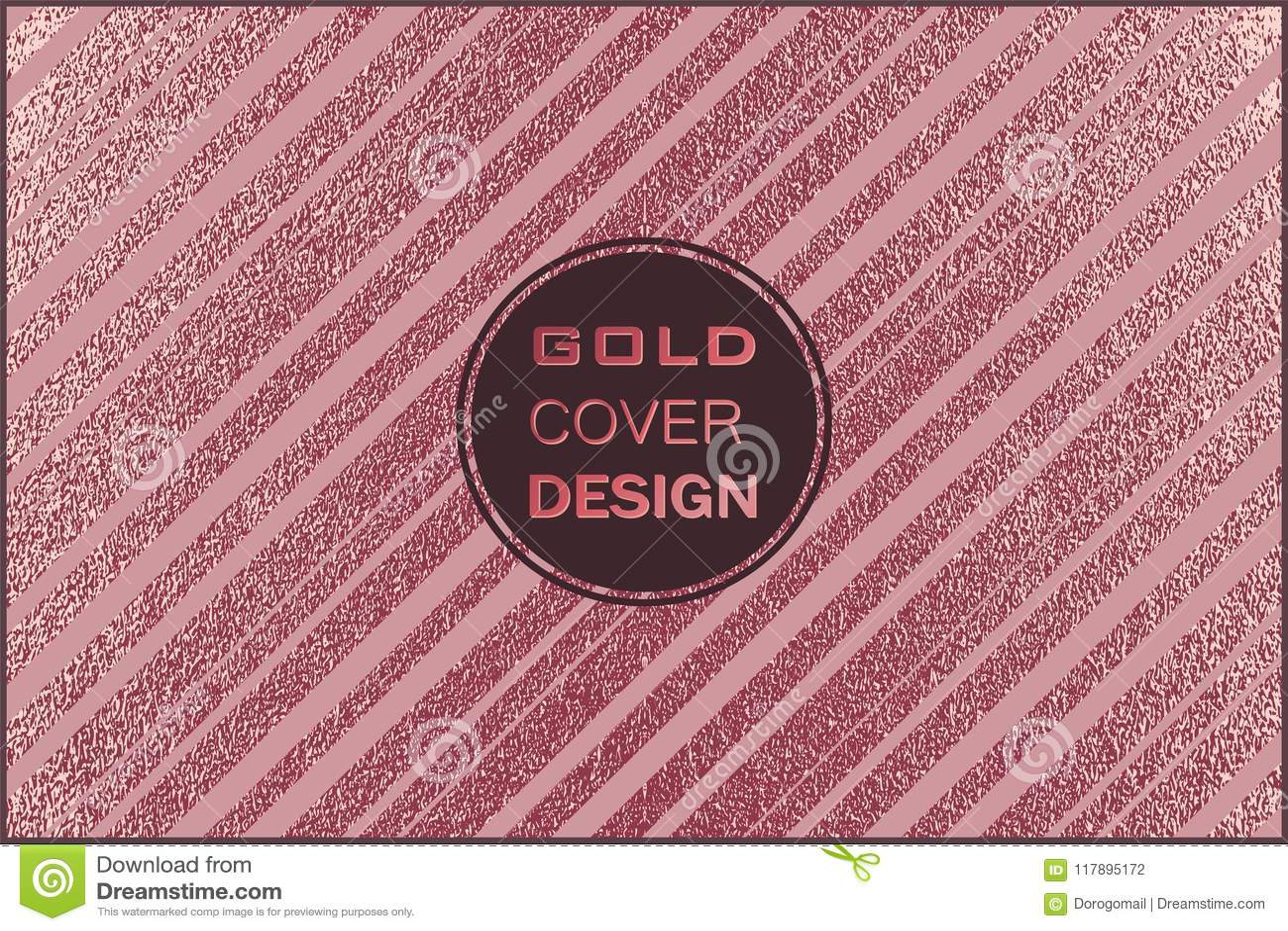 Modern And Stylish Minimal Design Copper Glossy Background