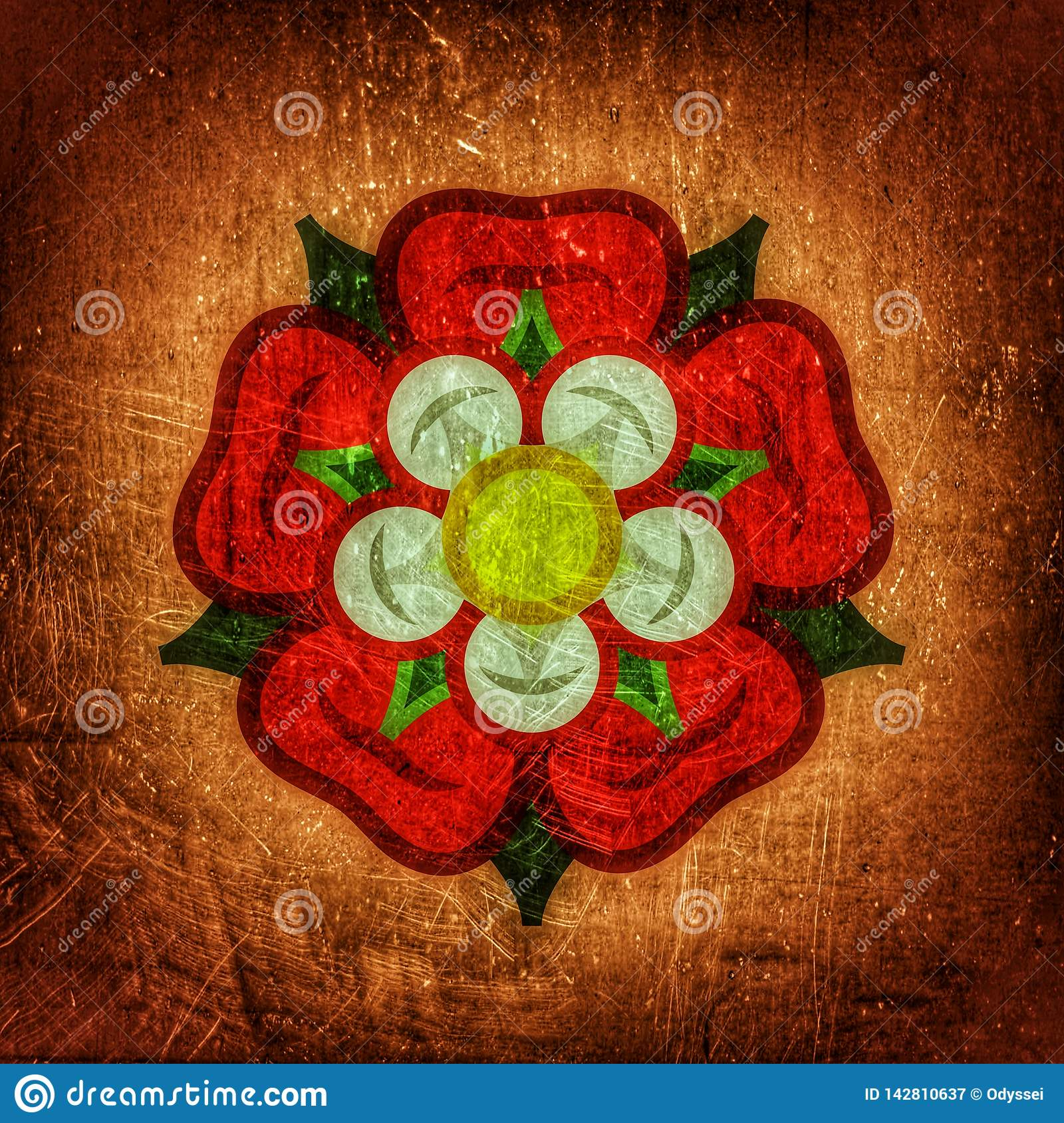 Rose ( Reina de flowers): emblema del amor, de la belleza y de la perfección