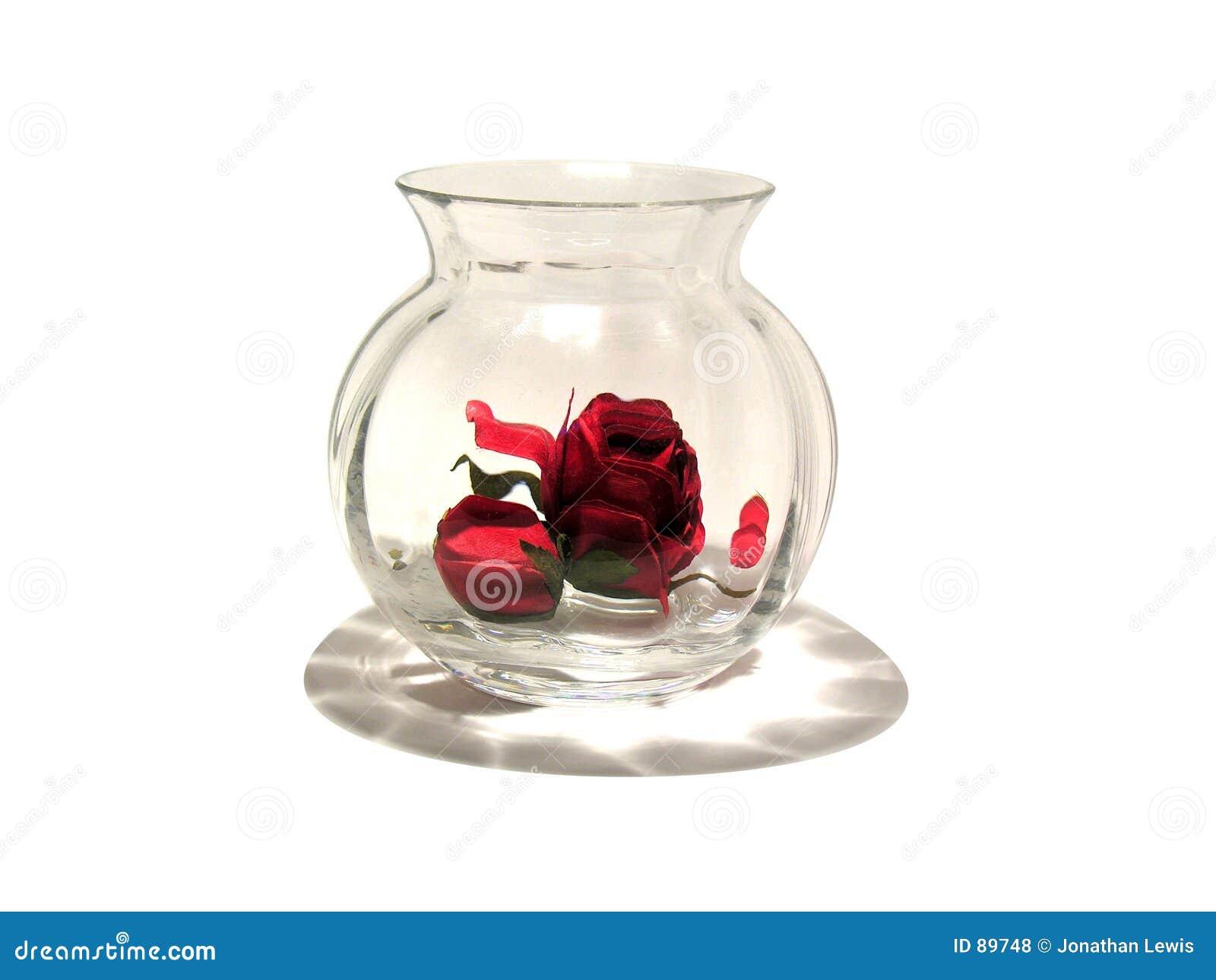Rose romantycznej wazę