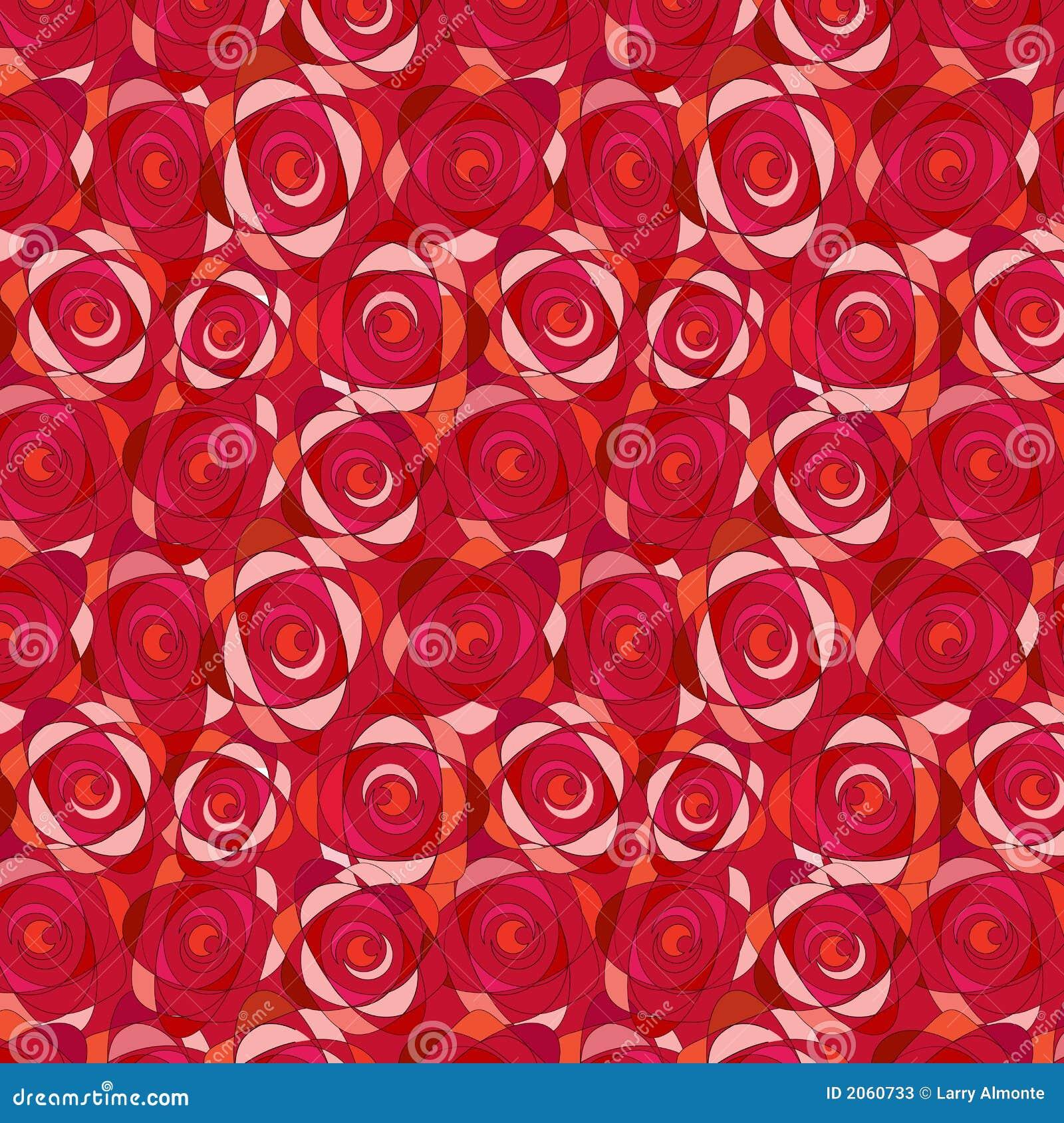 Rose Seamless Wallpaper Pattern