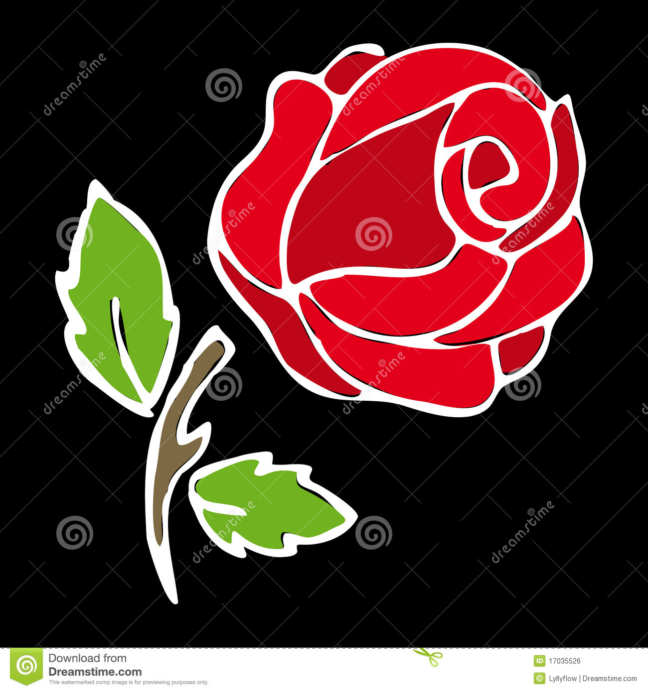 Rose Stencil Stock Illustrations – 1,251 Rose Stencil Stock ...
