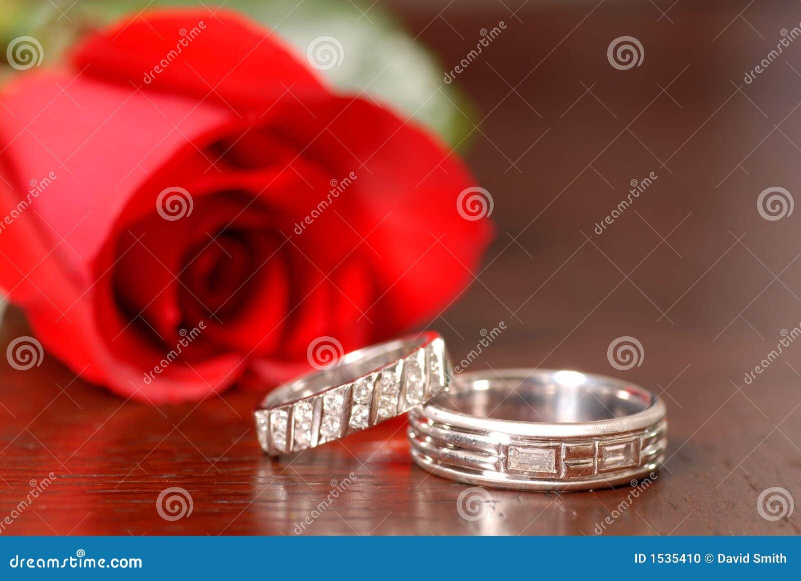 Rose tabell två som för röda cirklar gifta sig