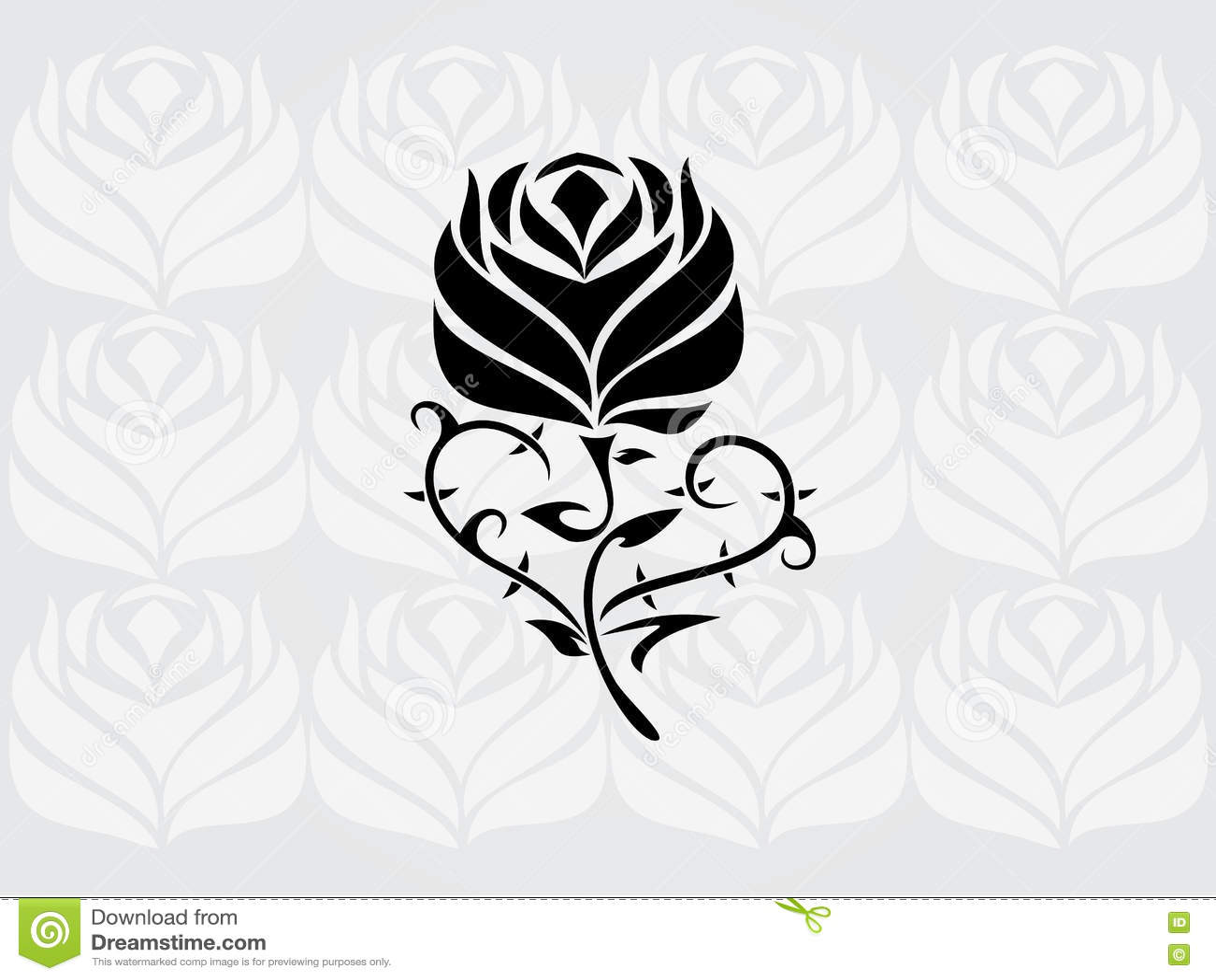 rose tribal galerie tatouage. Black Bedroom Furniture Sets. Home Design Ideas