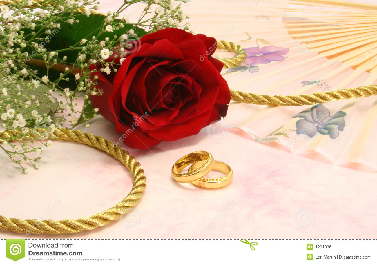 rose with wedding bands stock photo image of marriage 1201036