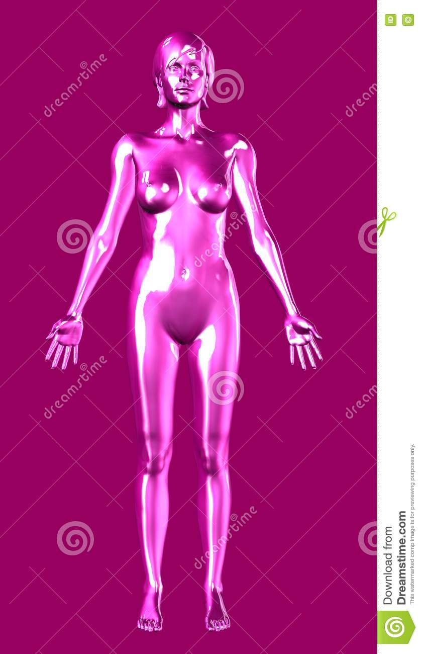 Rose Woman - includes clipping path