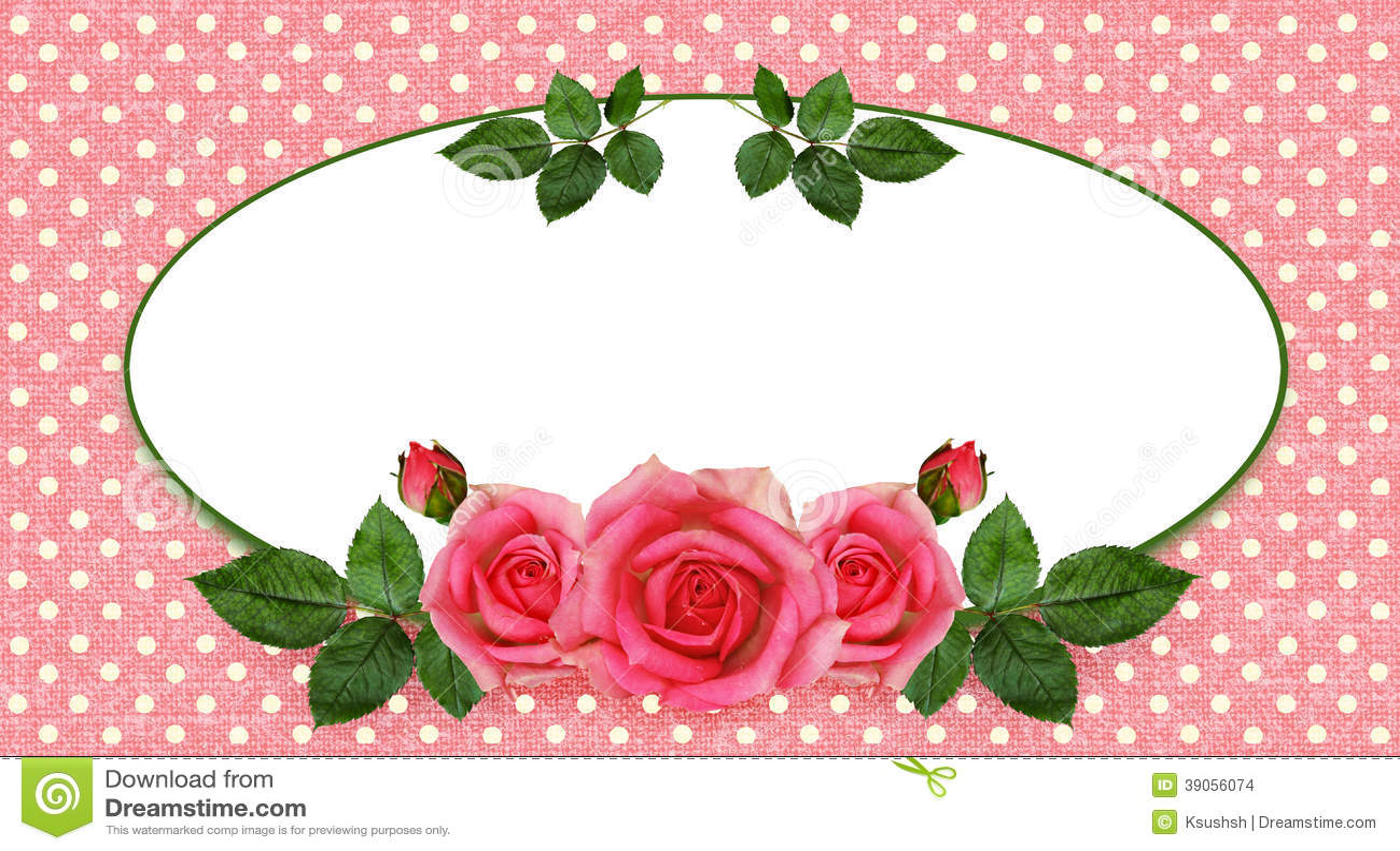 Rosen-Blumenanordnung und -rahmen