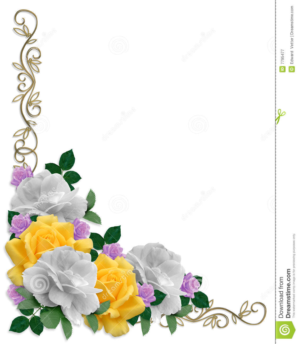 ... Easter or wedding invitation, background, border or frame with copy