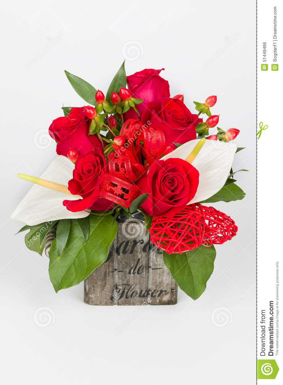 Flower bouquet and calla arrangement lateral view stock photo flower bouquet and calla arrangement lateral view izmirmasajfo
