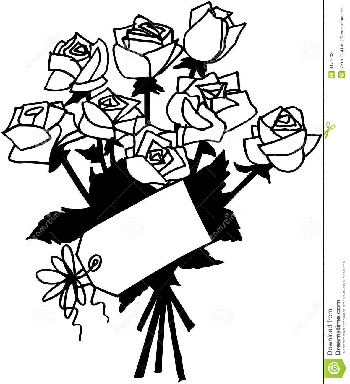 Roses Flowers Cartoon Vector Clipart Stock Vector - Image ...