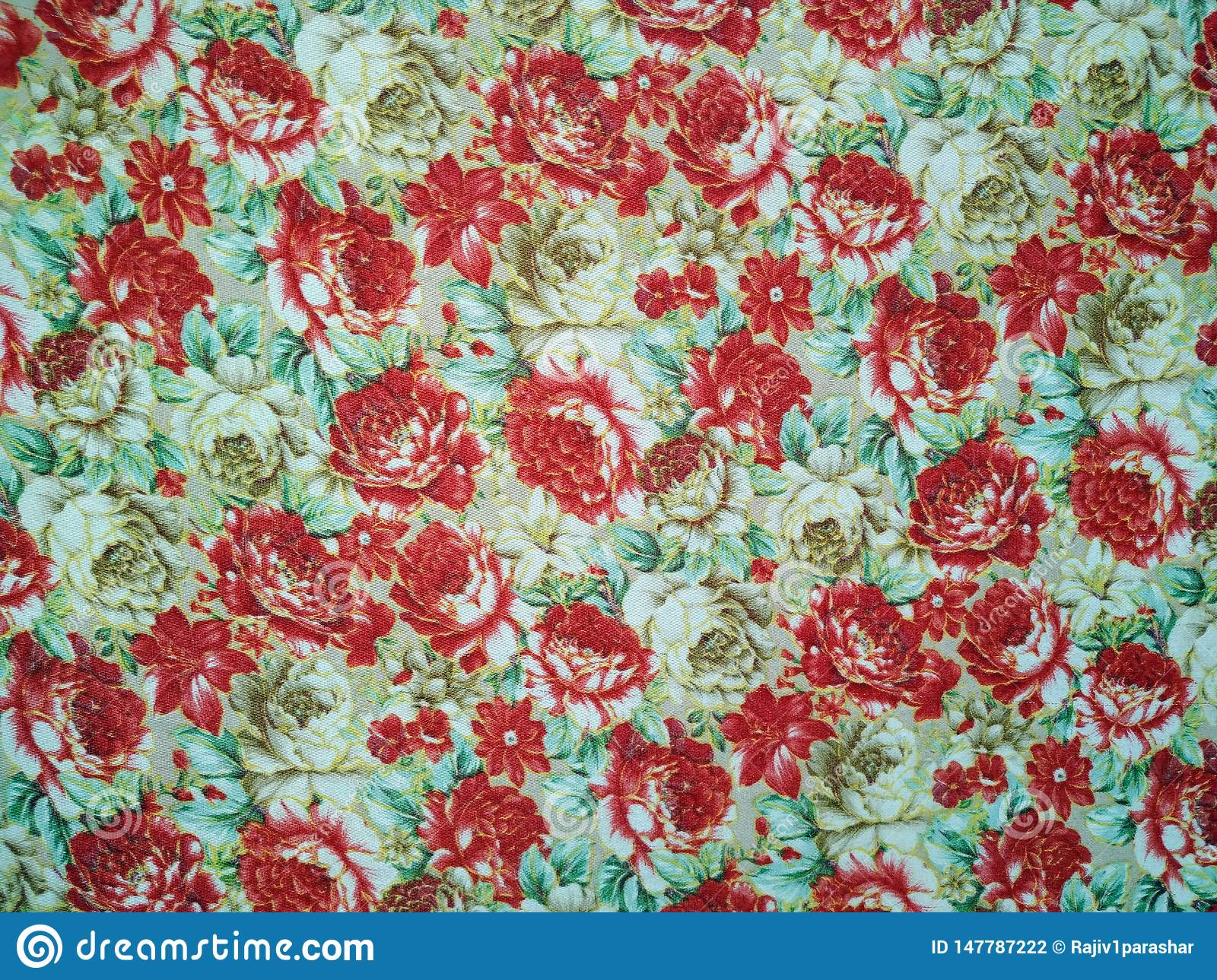 Roses pattern bunch of flowers, repeating print for fabric
