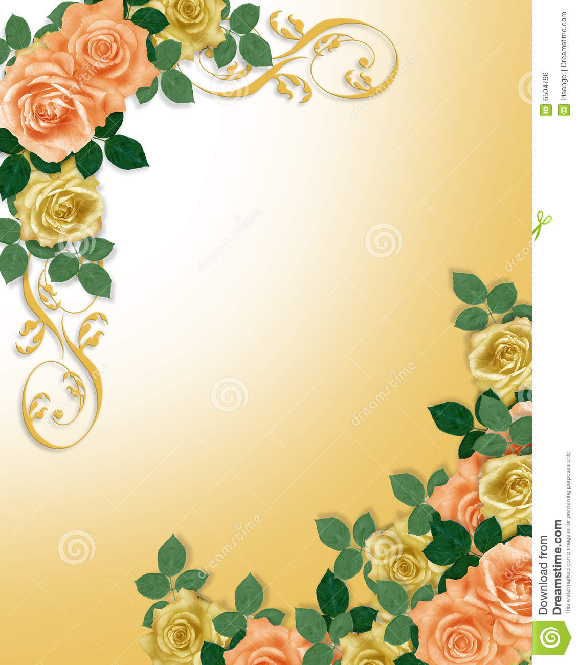 Image and illustration composition Corner design element for Valentine ...