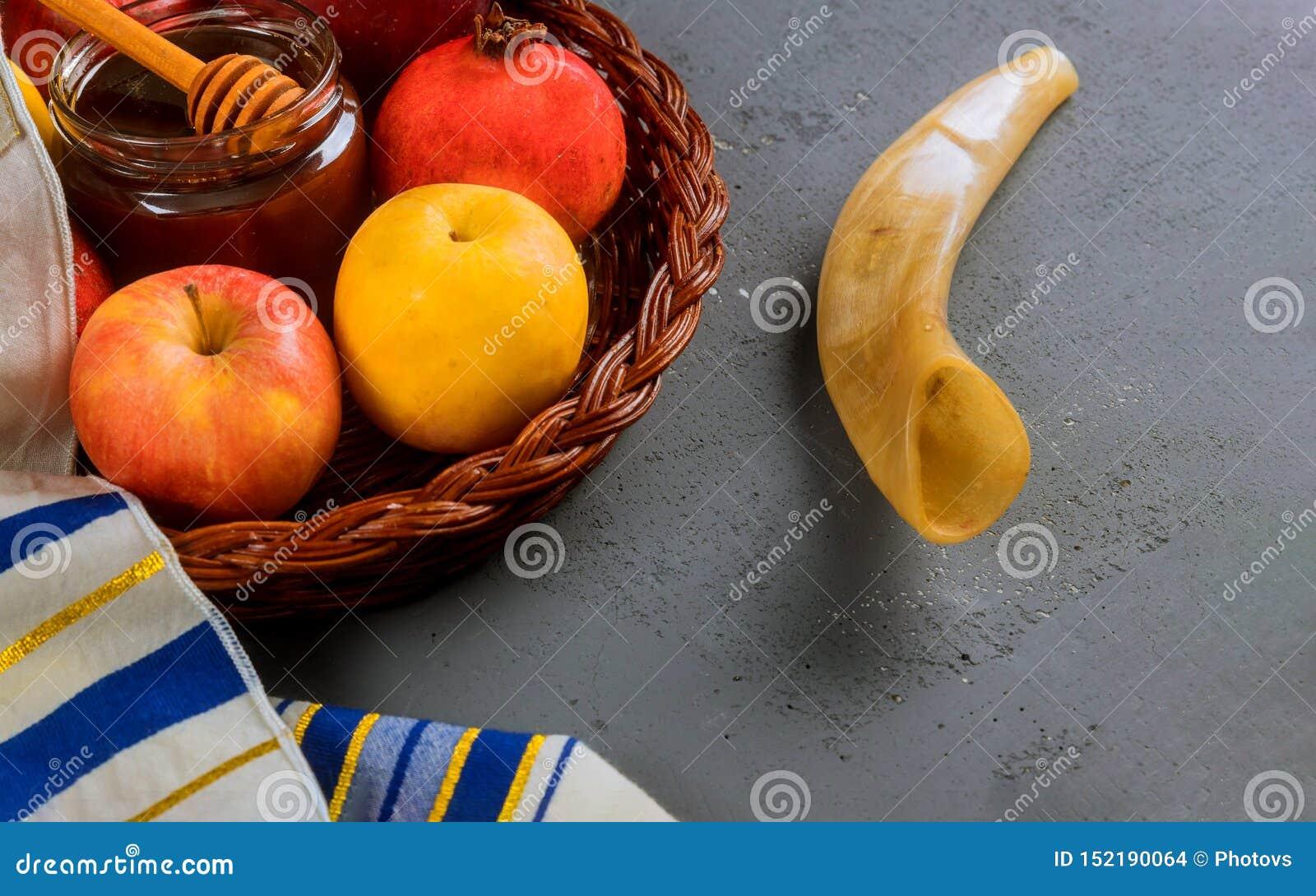 Rosh-hashanah j?disches Neujahrsfeiertagkonzept Selektive Weichzeichnung