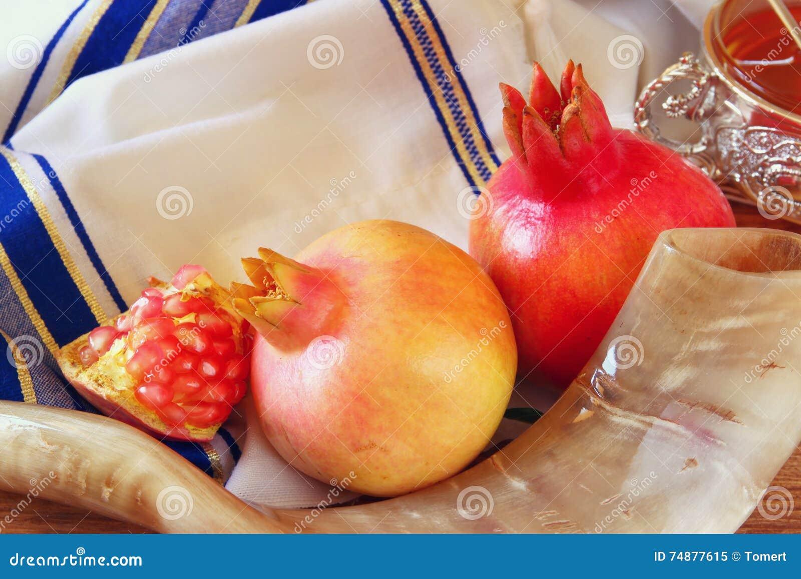 Rosh hashanah jewish new year concept traditional symbols stock rosh hashanah jewish new year concept traditional symbols biocorpaavc