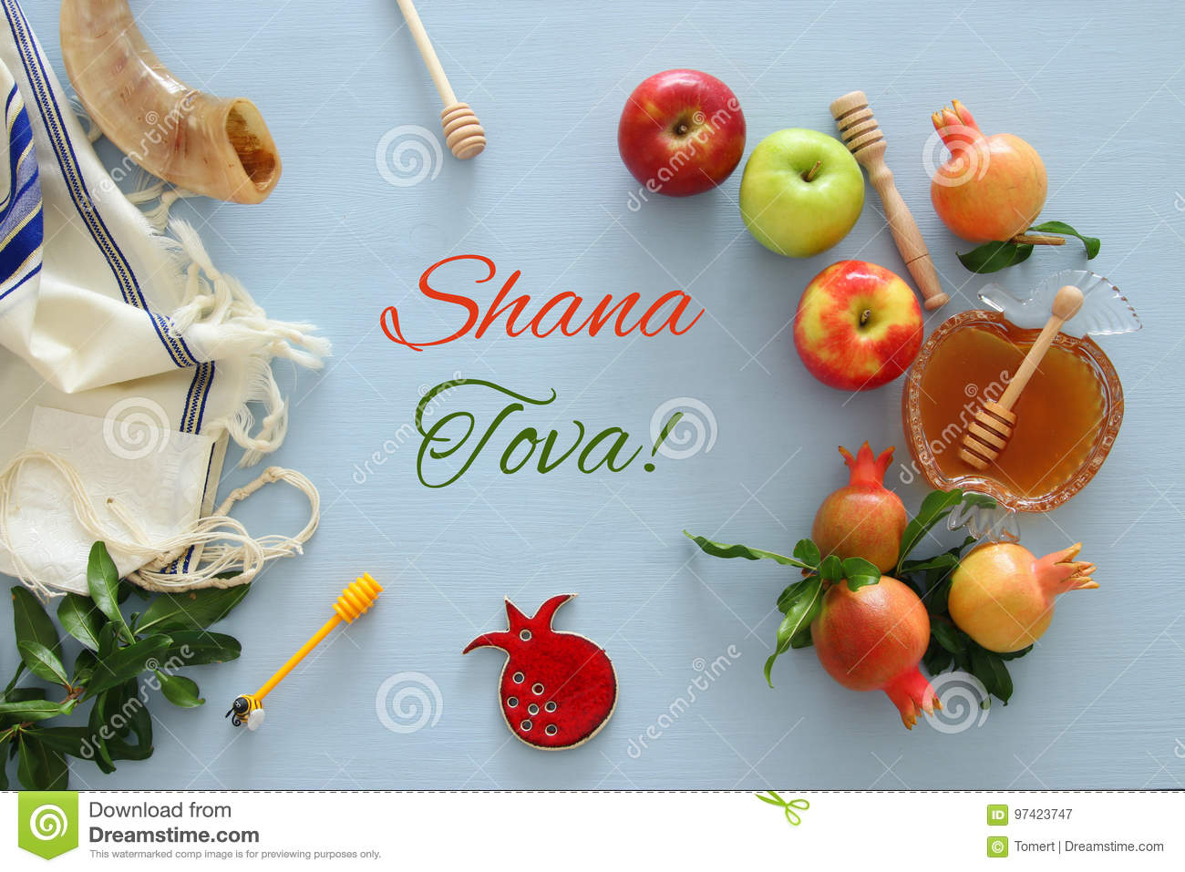 Rosh hashanah x28jewish new year holiday x29 concept stock rosh hashanah x28jewish new year holiday x29 concept traditional symbols text shana tova means happy new year in hebrew m4hsunfo