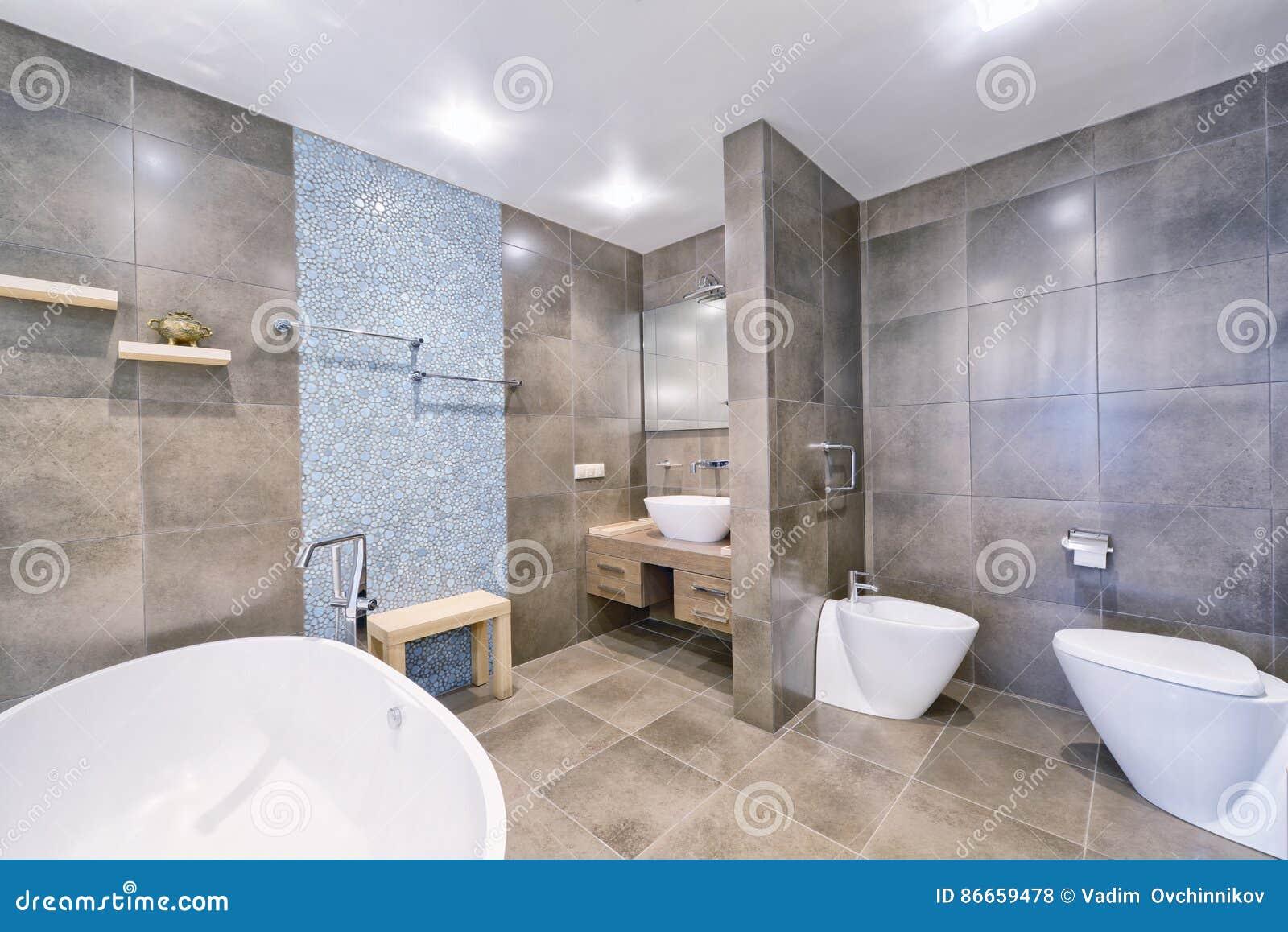 Rosja Moskwa Region łazienki Wnętrze W Nowym Luksusowym