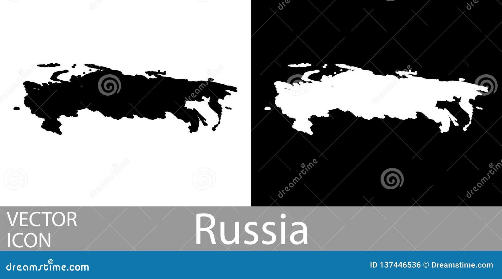 Rosja wyszczególniał mapę