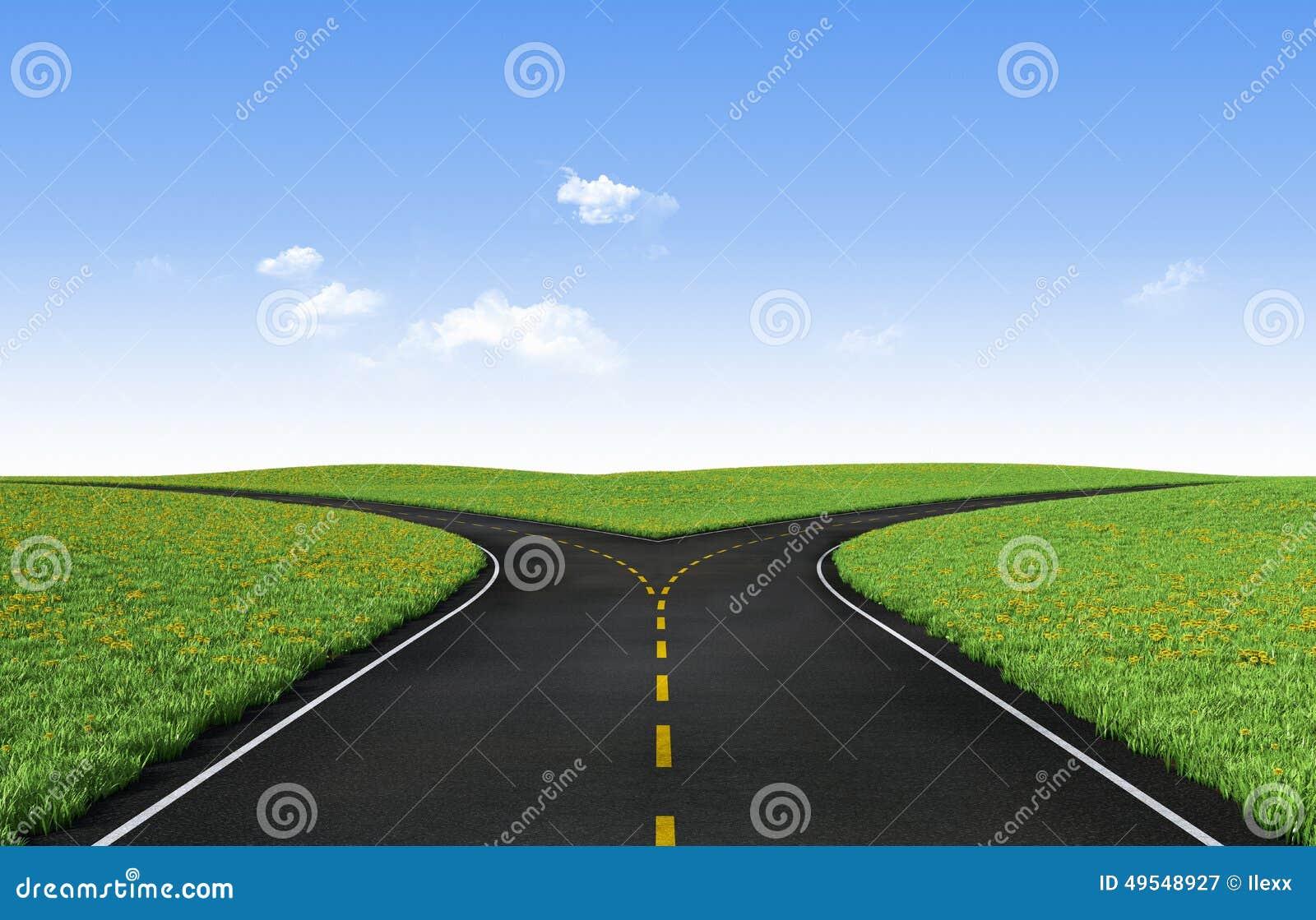 Rosochata road