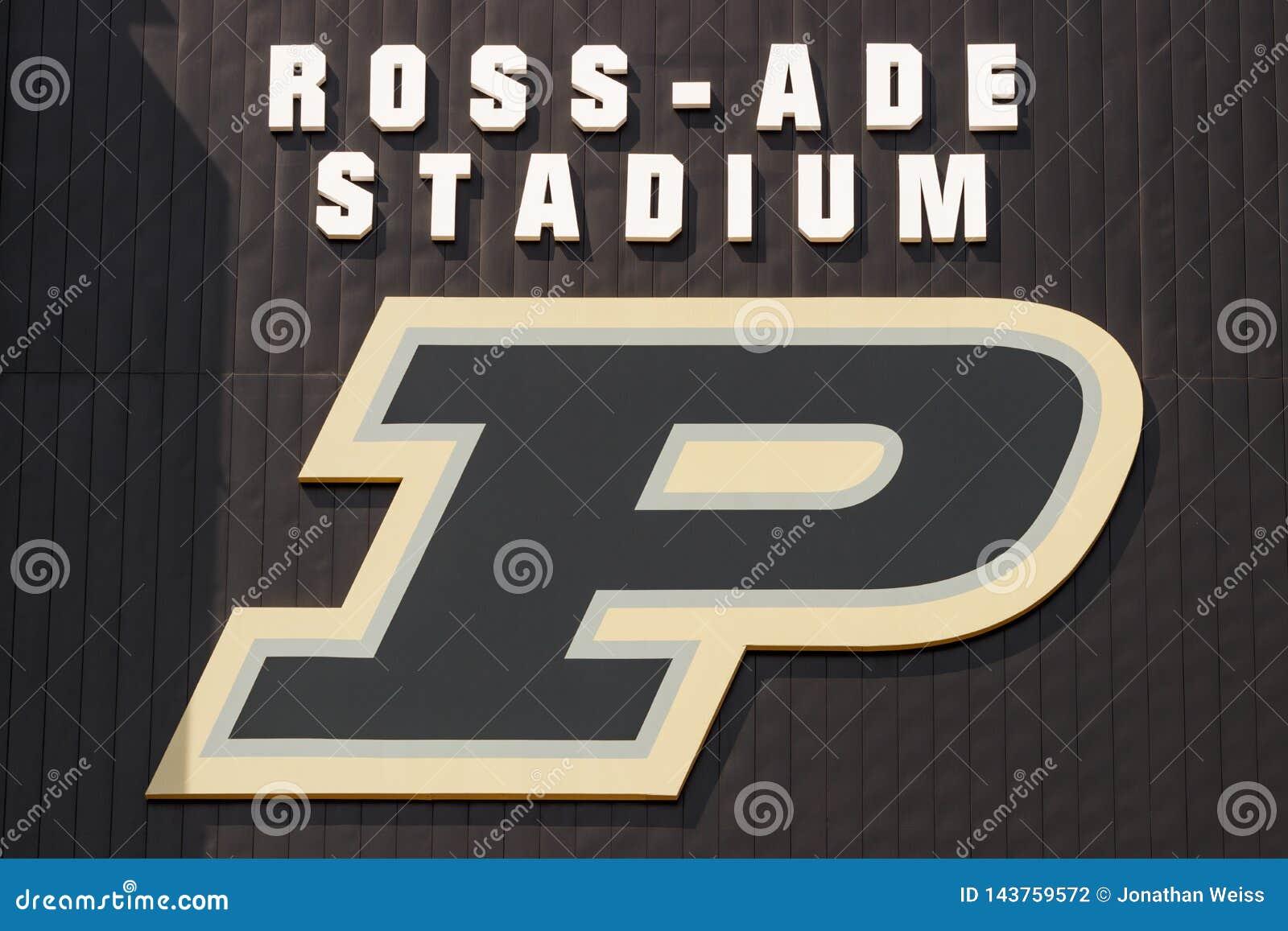 Ross-Ade Stadium bij Purdue-Universiteit Een lid van Grote Tien, Purdue-gastherenteams van midwesten I