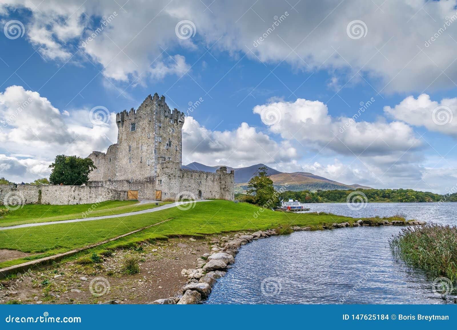 Ross kasztel, Irlandia