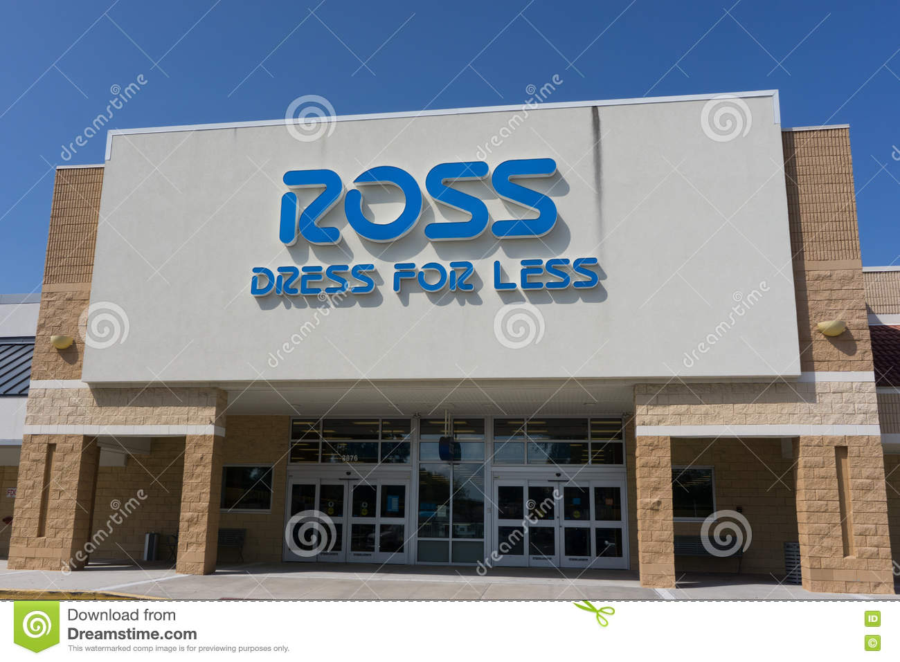 Ross Store In Jacksonville Editorial Image Image Of Ross 77830705