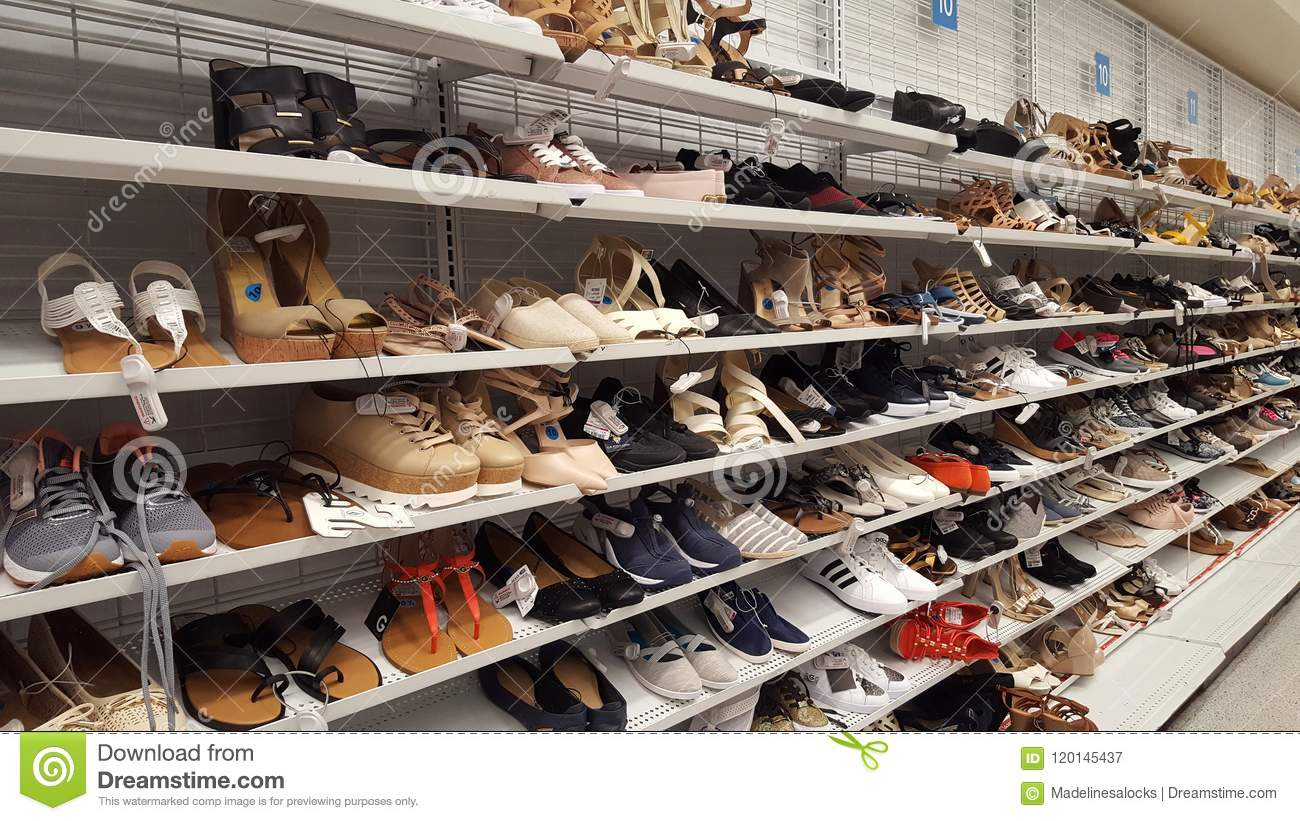 e829f06ed8a Ross Store shoes editorial photography. Image of store - 120145437